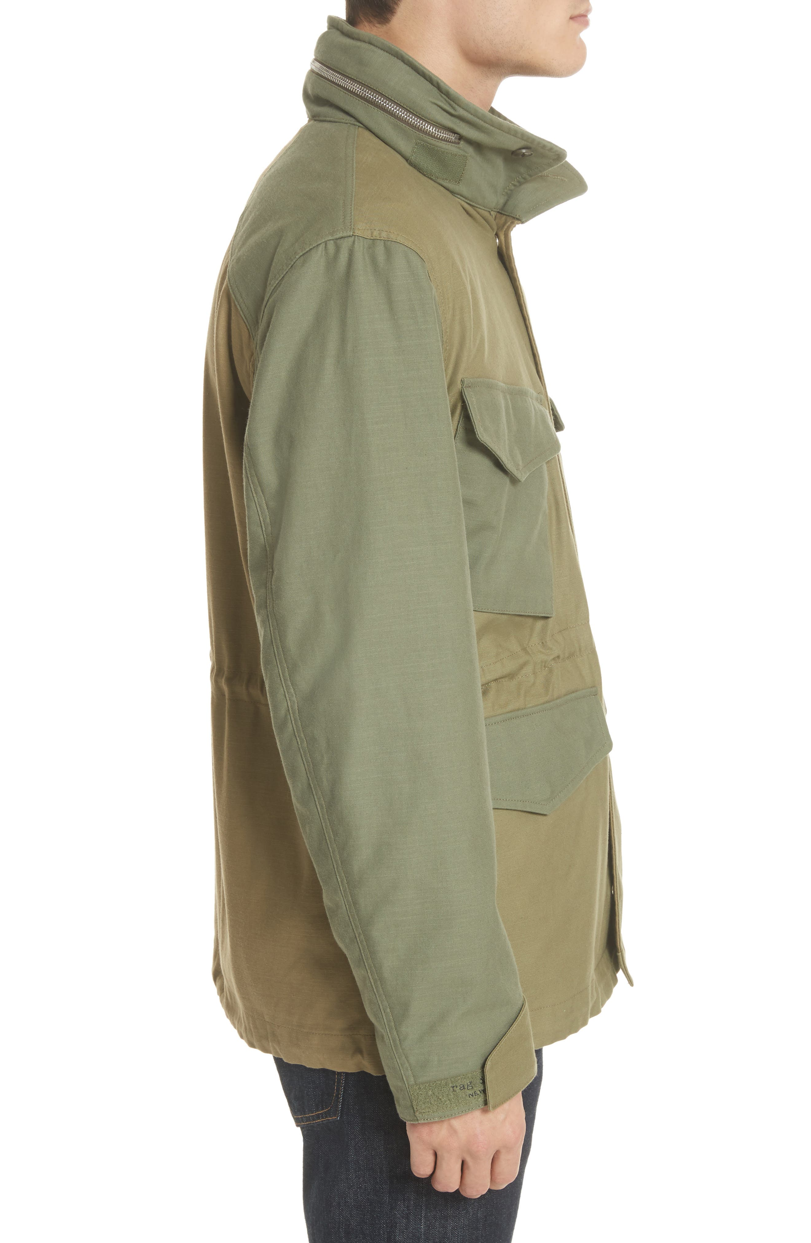 Field Jacket,                             Alternate thumbnail 3, color,                             Olive