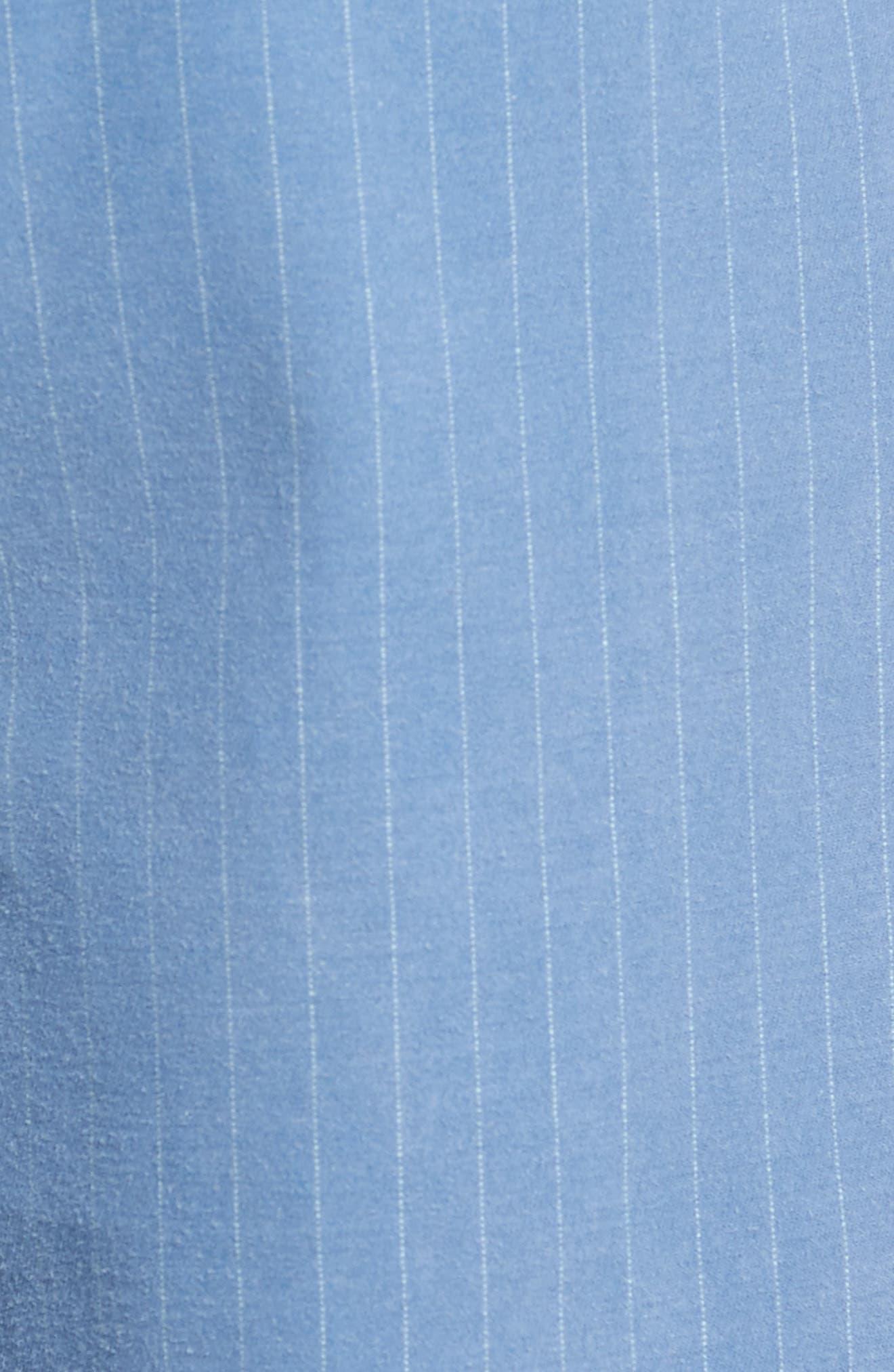 Print Frost Wash Shorts,                             Alternate thumbnail 5, color,                             Blue Camp Stripe
