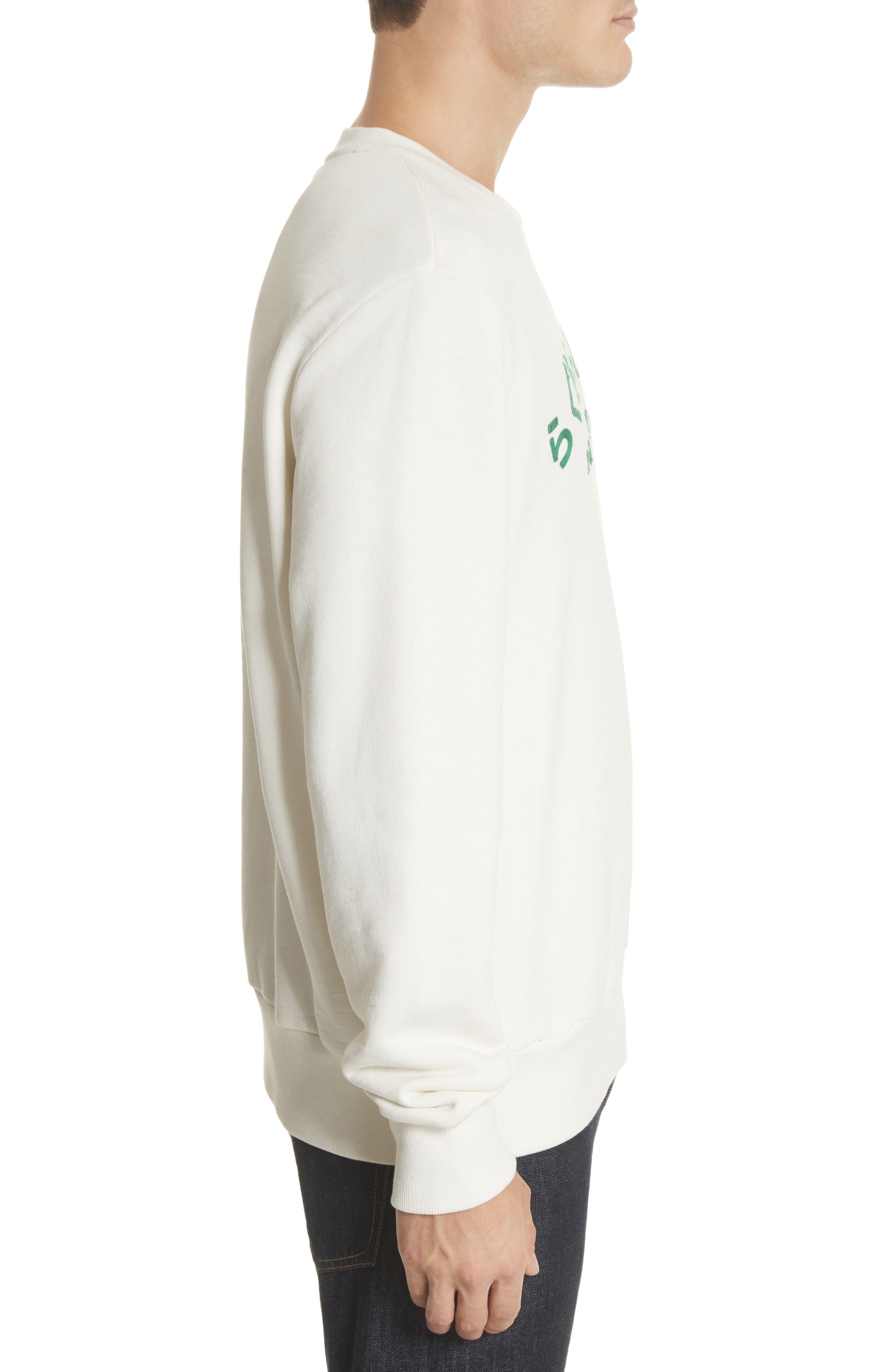 Alternate Image 3  - rag & bone Japan Embroidered Crewneck Sweatshirt