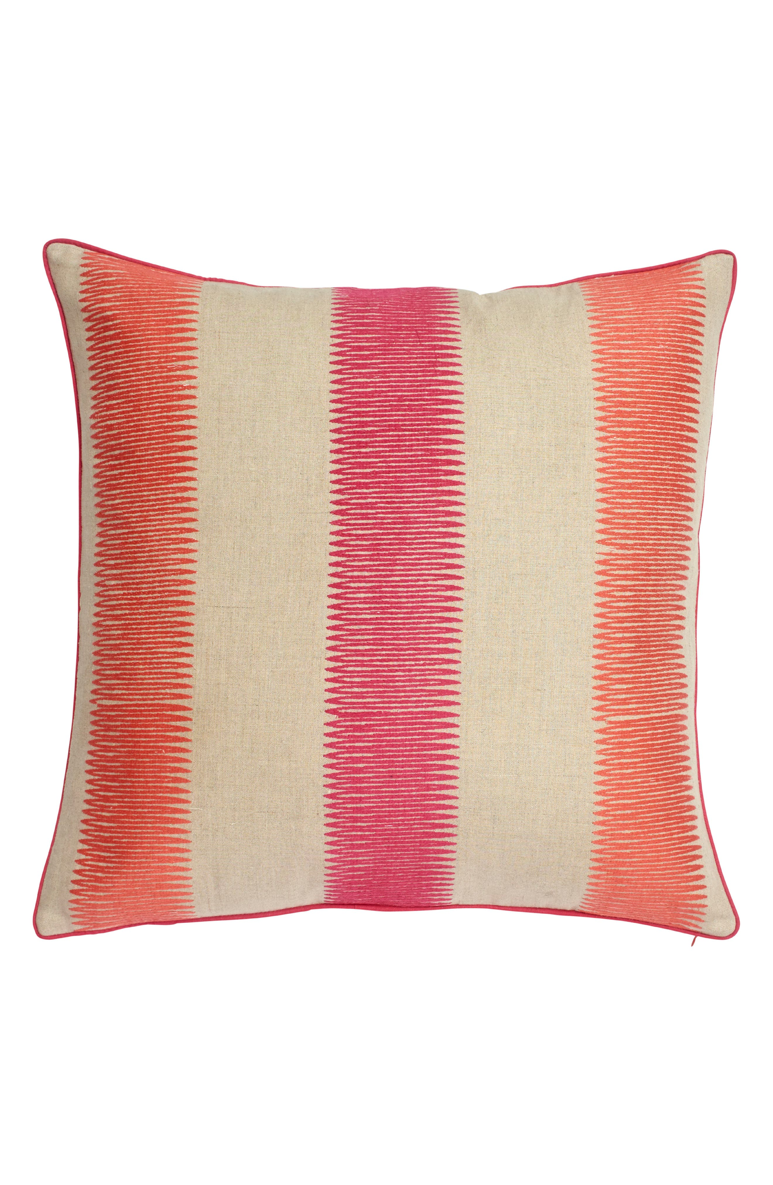 Paradise Accent Pillow,                             Main thumbnail 1, color,                             Pink
