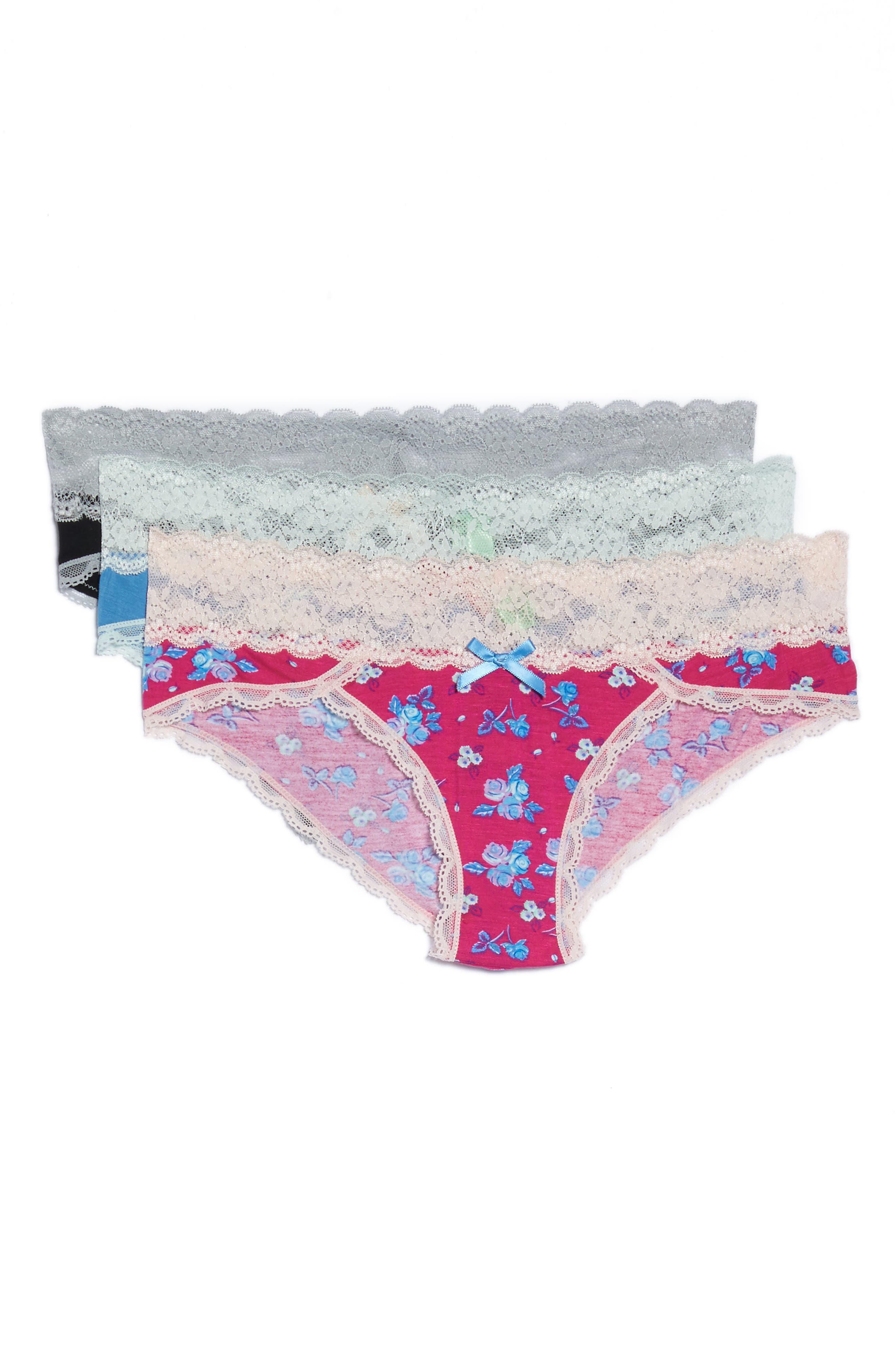 Main Image - Honeydew Intimates 3-Pack Hipster Panties