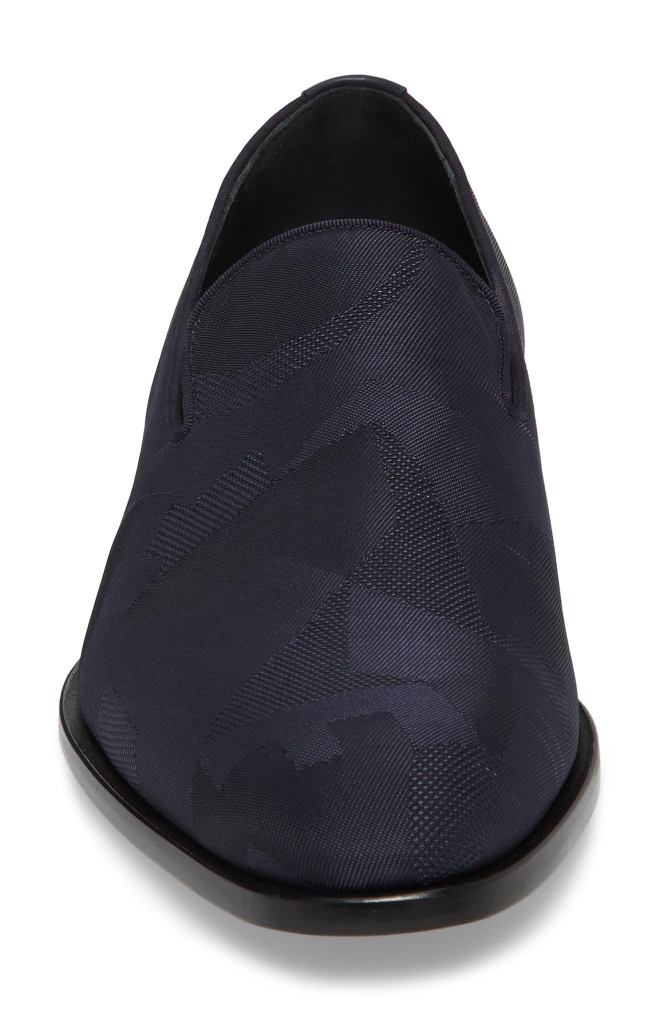 Class Venetian Loafer,                             Alternate thumbnail 4, color,                             Navy