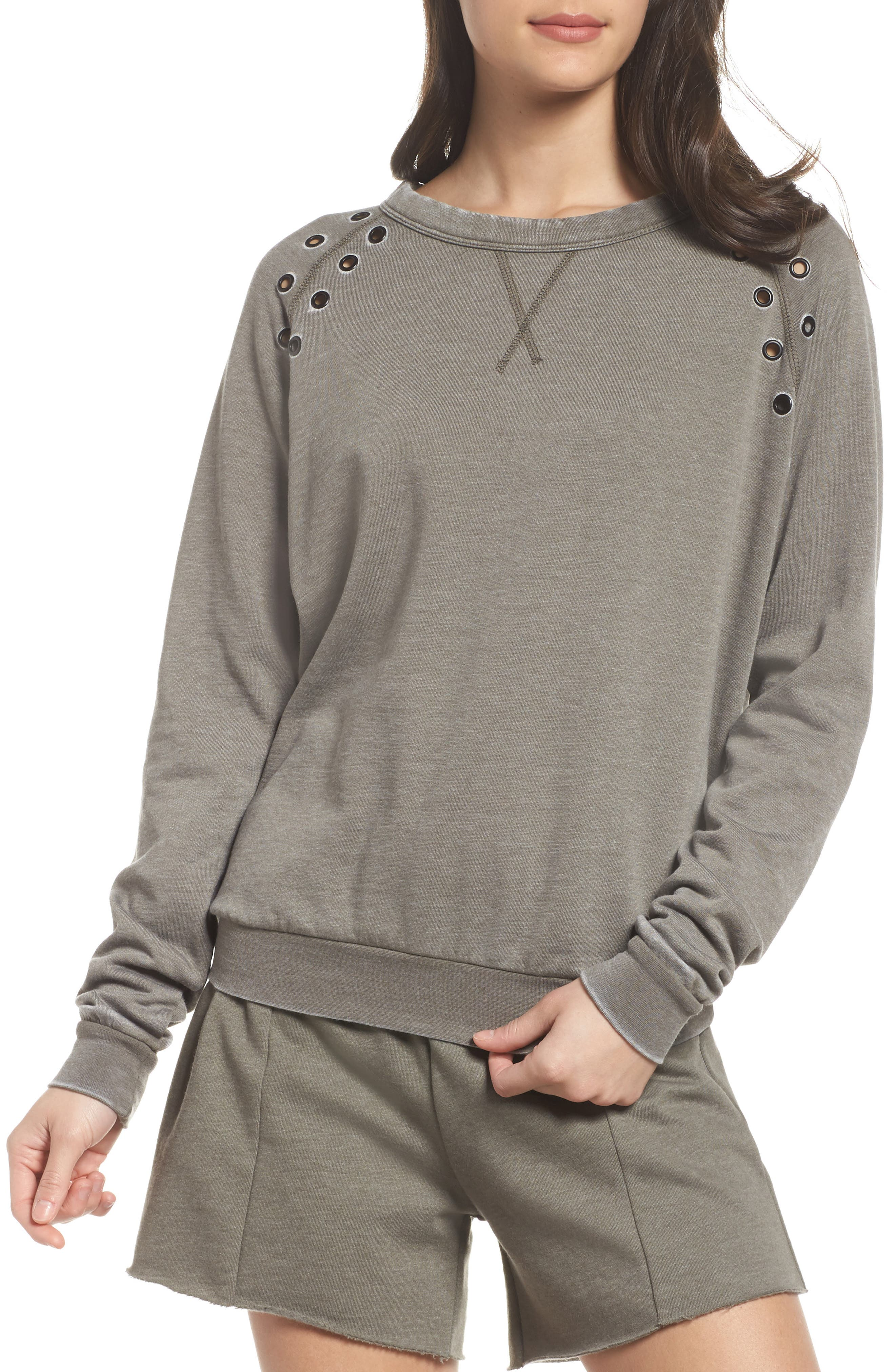 The Laundry Room Grommet Sweatshirt