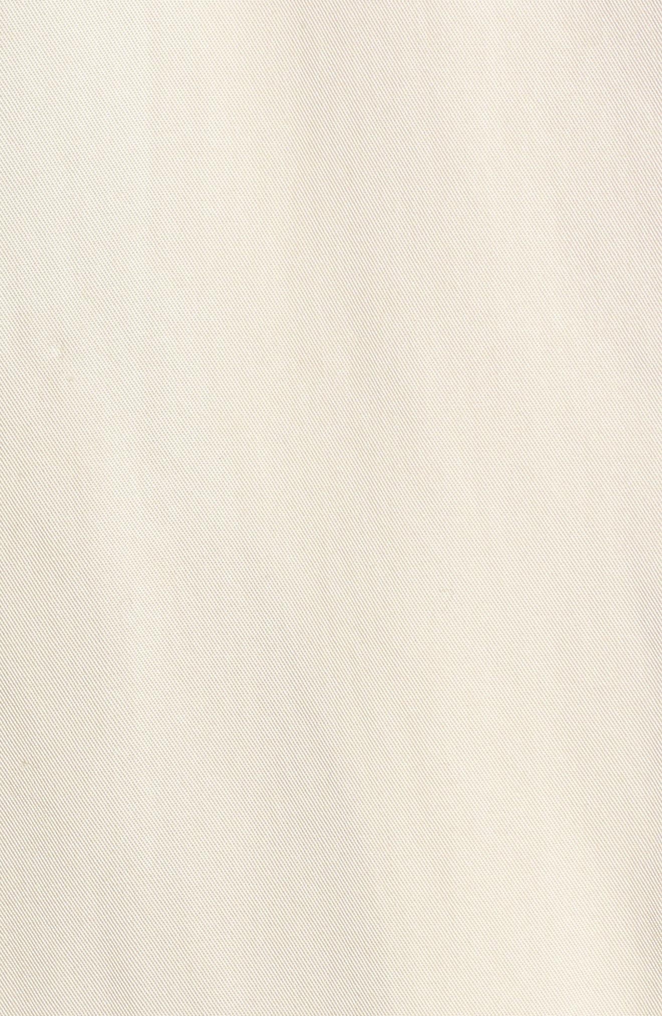 Zoe Longline Trench Vest,                             Alternate thumbnail 5, color,                             Beige