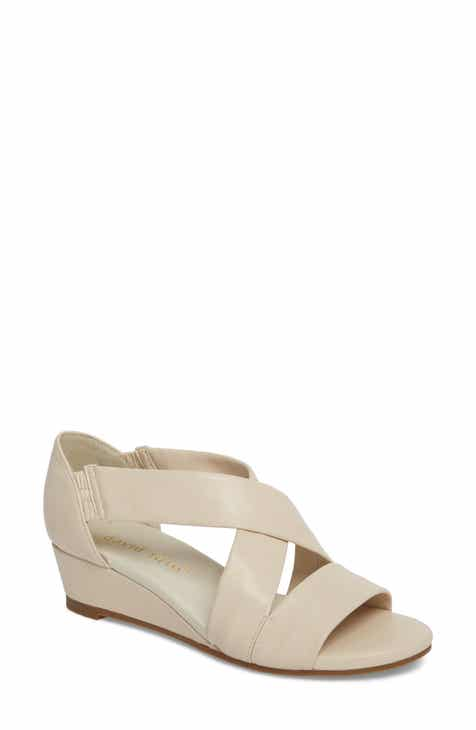 c9bcf9ad8e8 David Tate Swell Cross Strap Wedge Sandal (Women)