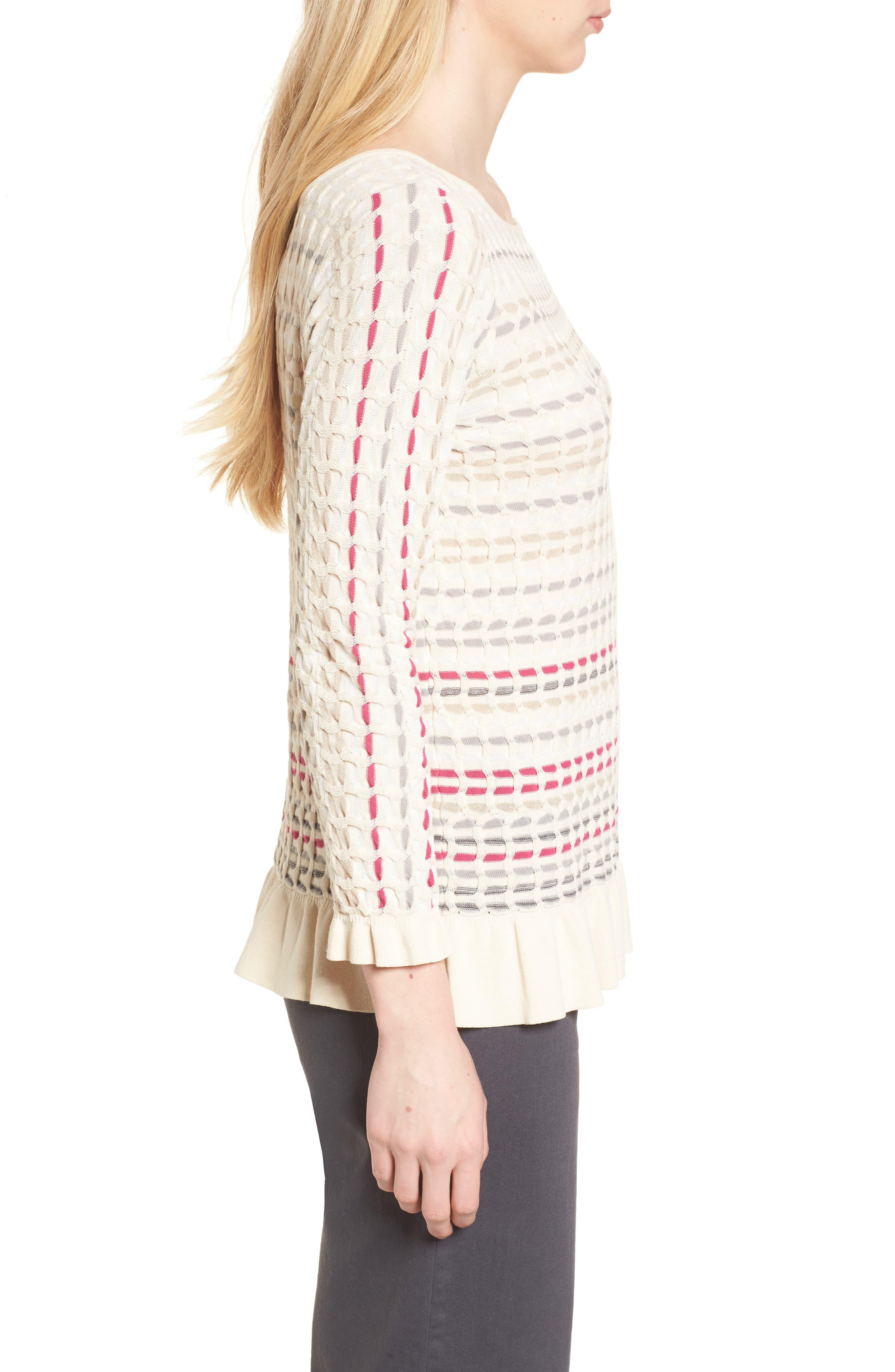 Saffron Stitch Sweater,                             Alternate thumbnail 3, color,                             Multi