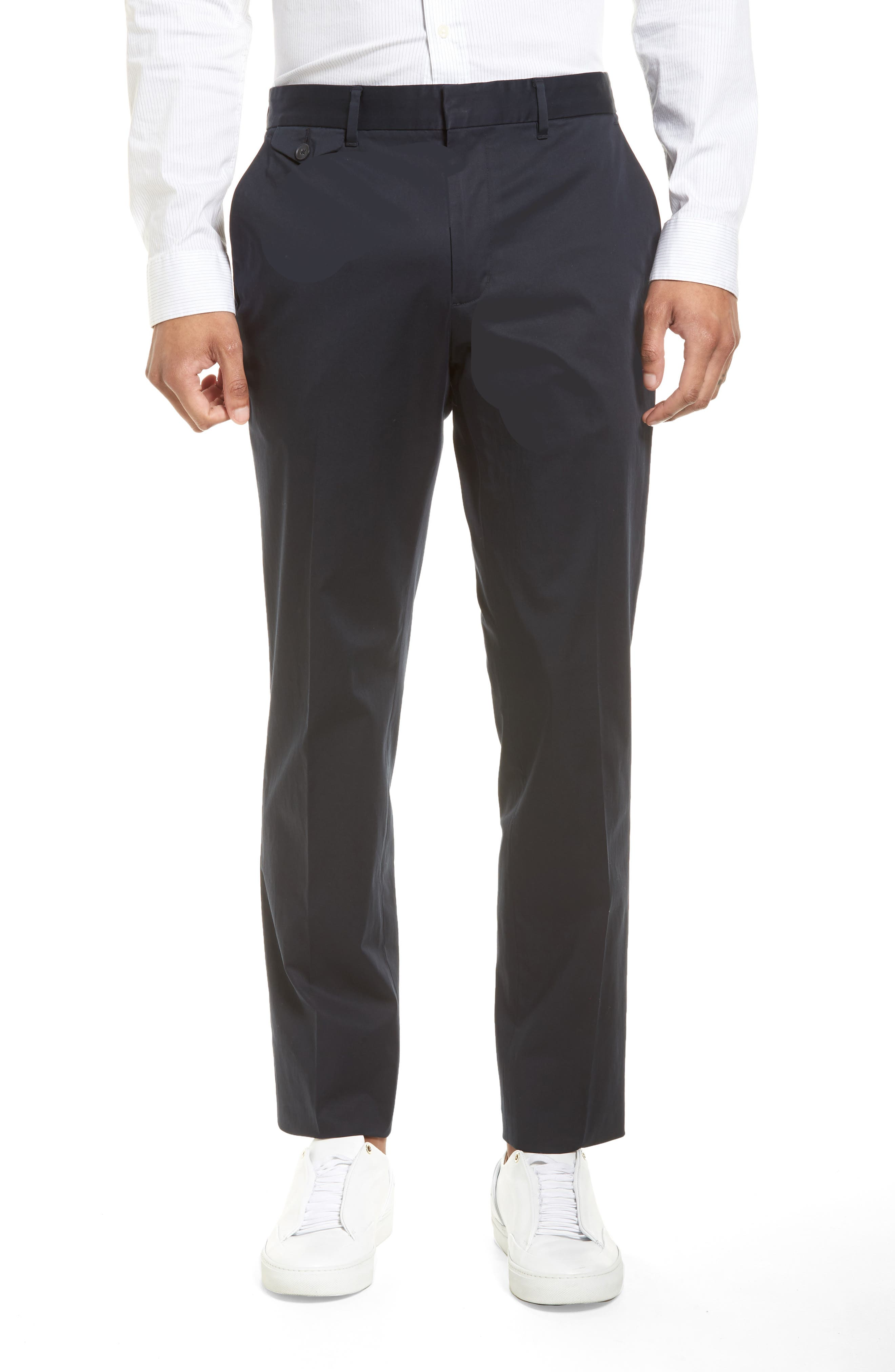 Alternate Image 1 Selected - Vince Officer Flat Front Chino Pants