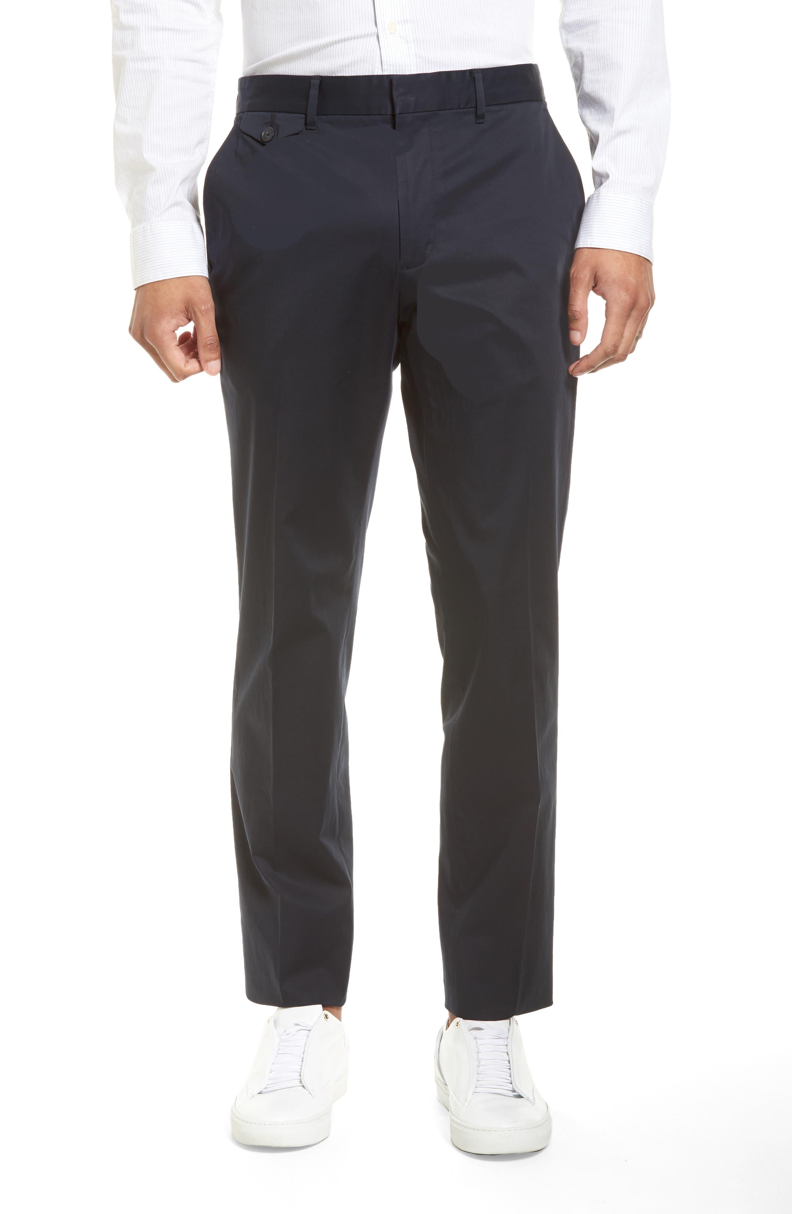 Officer Flat Front Chino Pants,                         Main,                         color, New Coastal