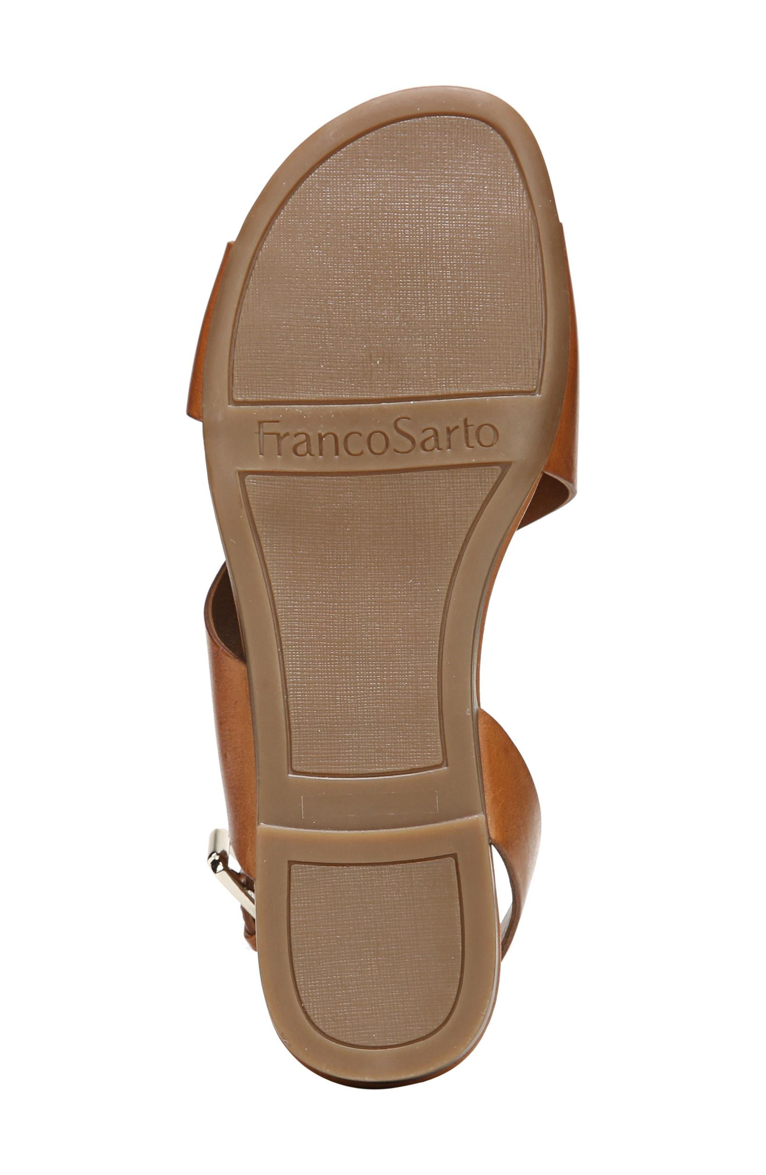 Garza Slingback Sandal,                             Alternate thumbnail 6, color,                             Tan Leather