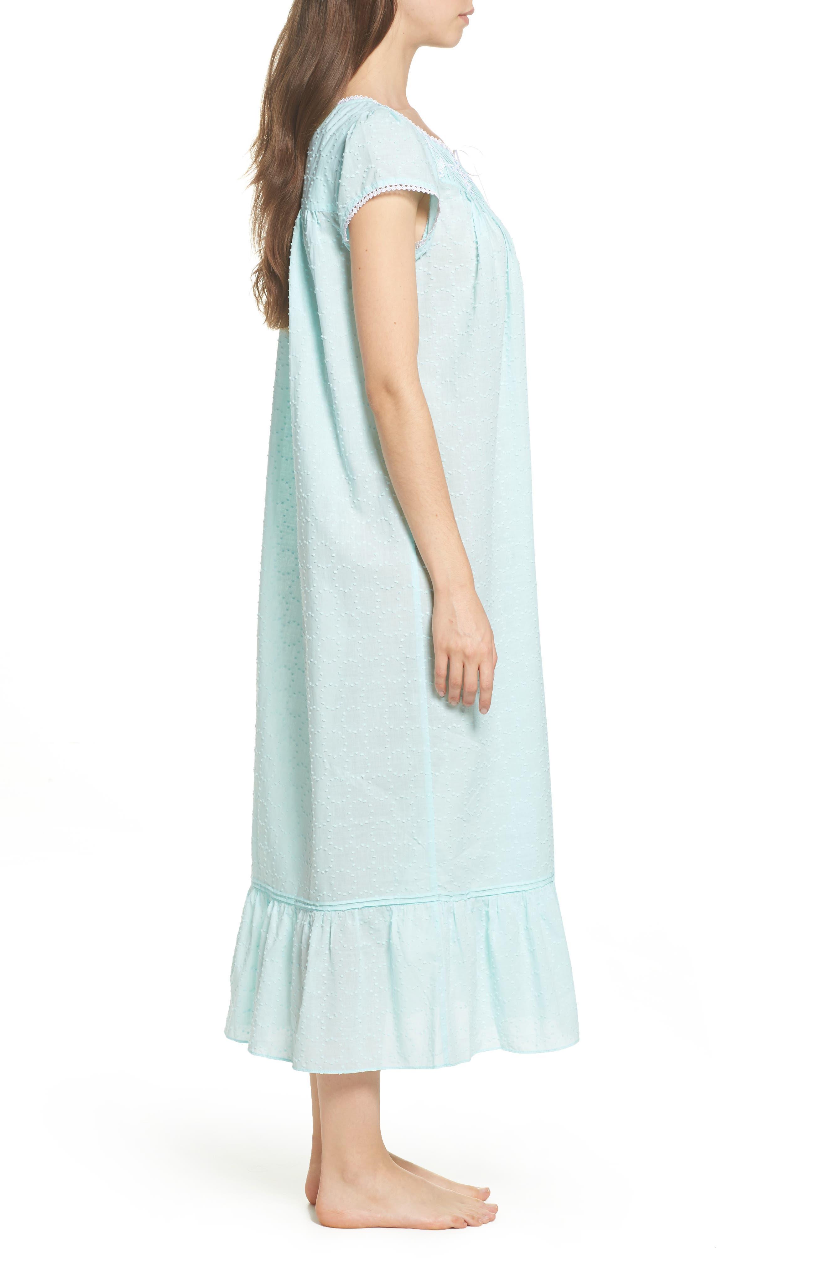 Alternate Image 3  - Eileen West Cotton Ballet Nightgown