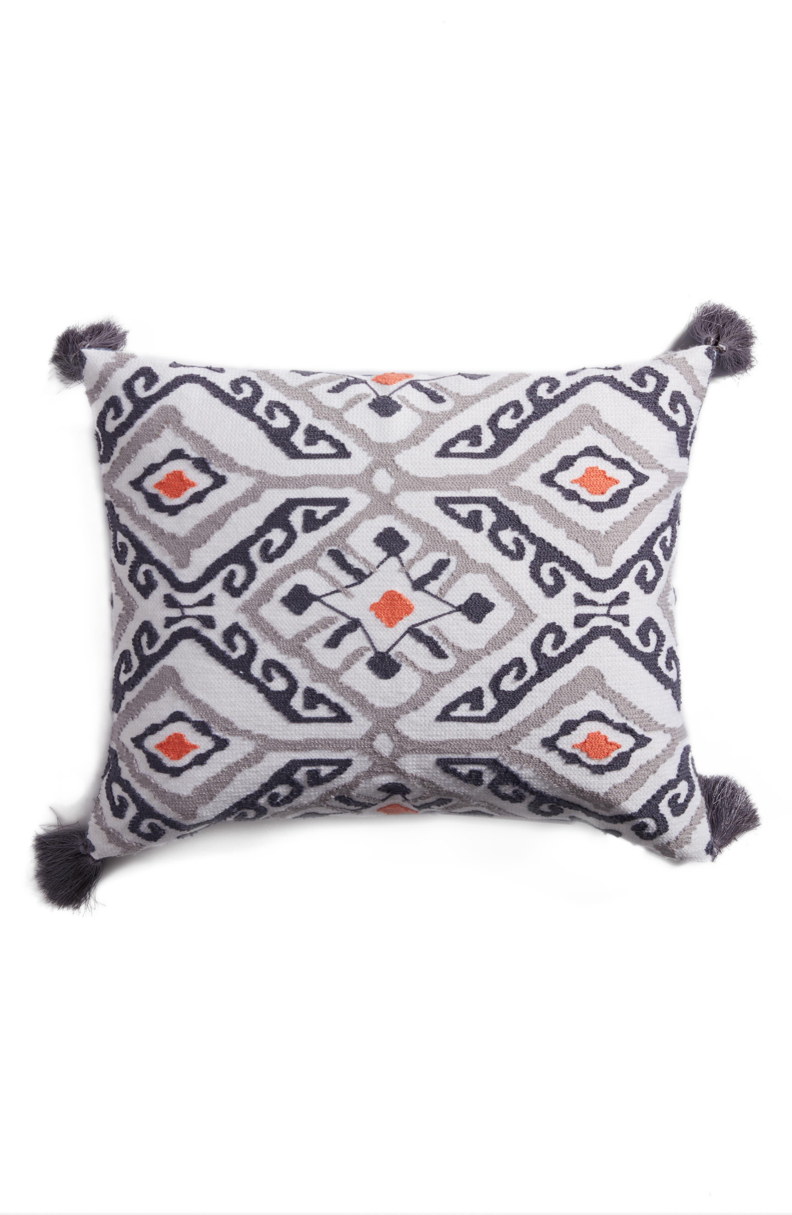 Saida Accent Pillow,                             Main thumbnail 1, color,                             Blue