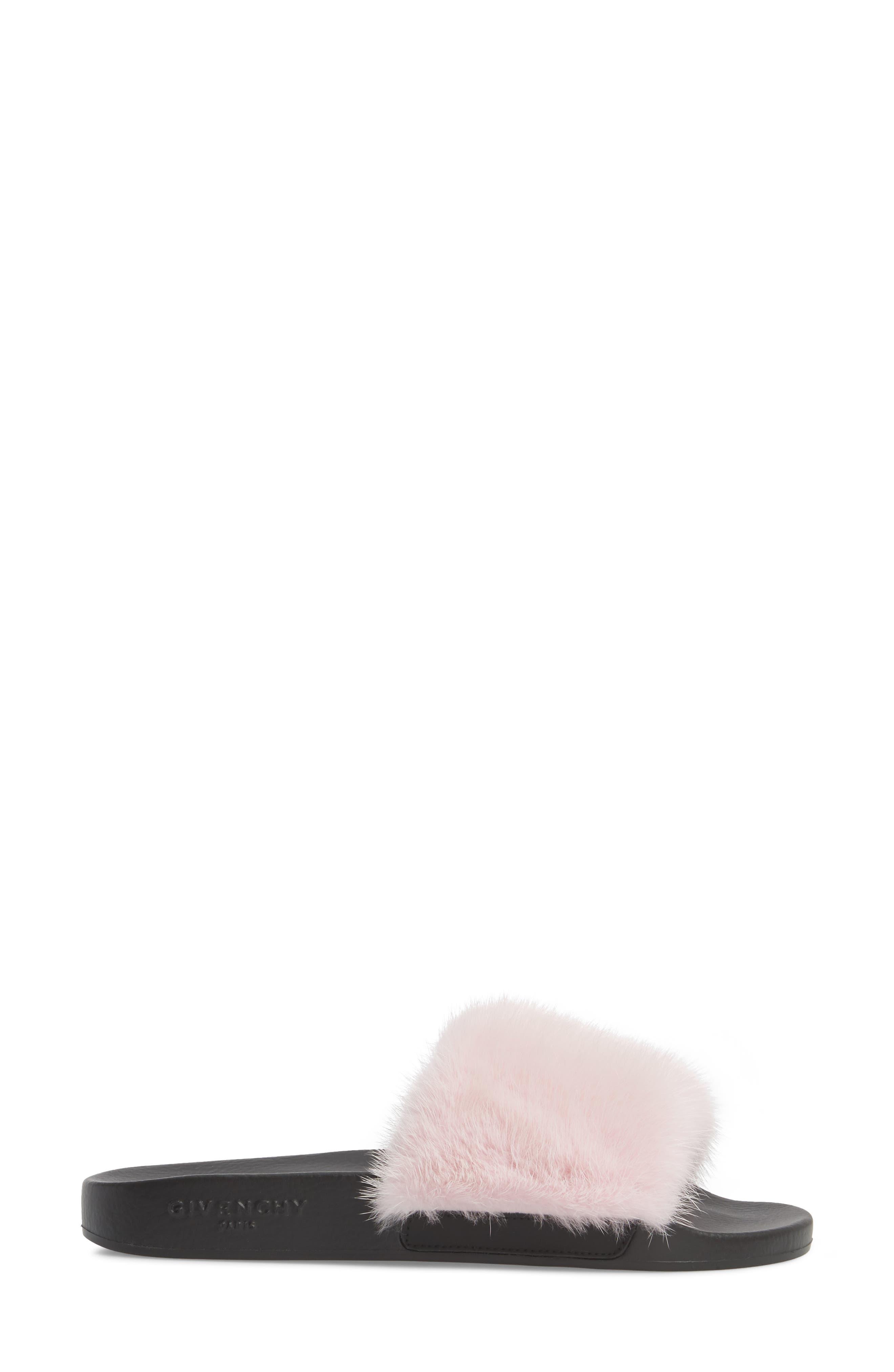 Alternate Image 3  - Givenchy Genuine Mink Fur Slide Sandal (Women)