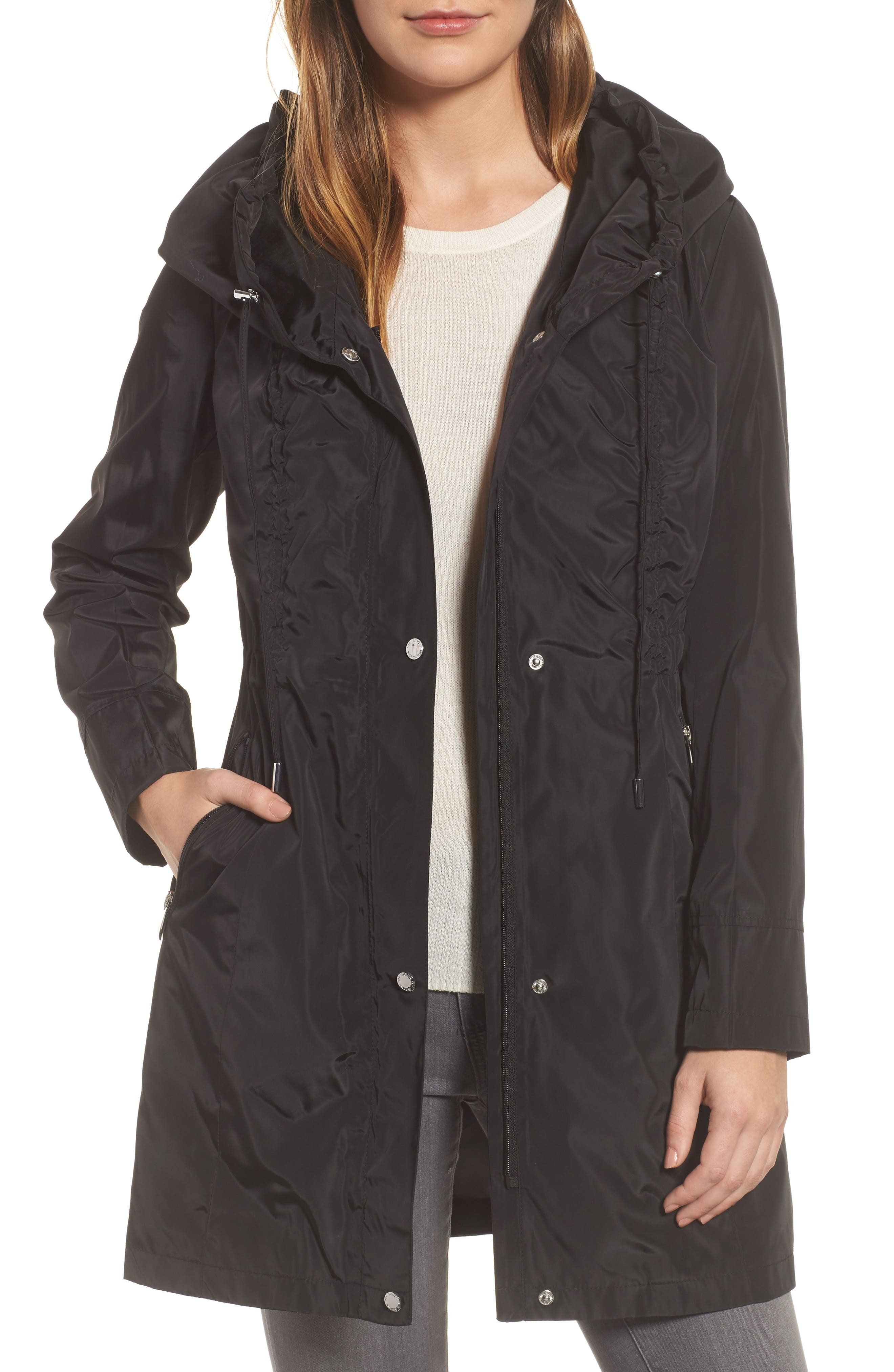 Via Spiga Packable Raincoat