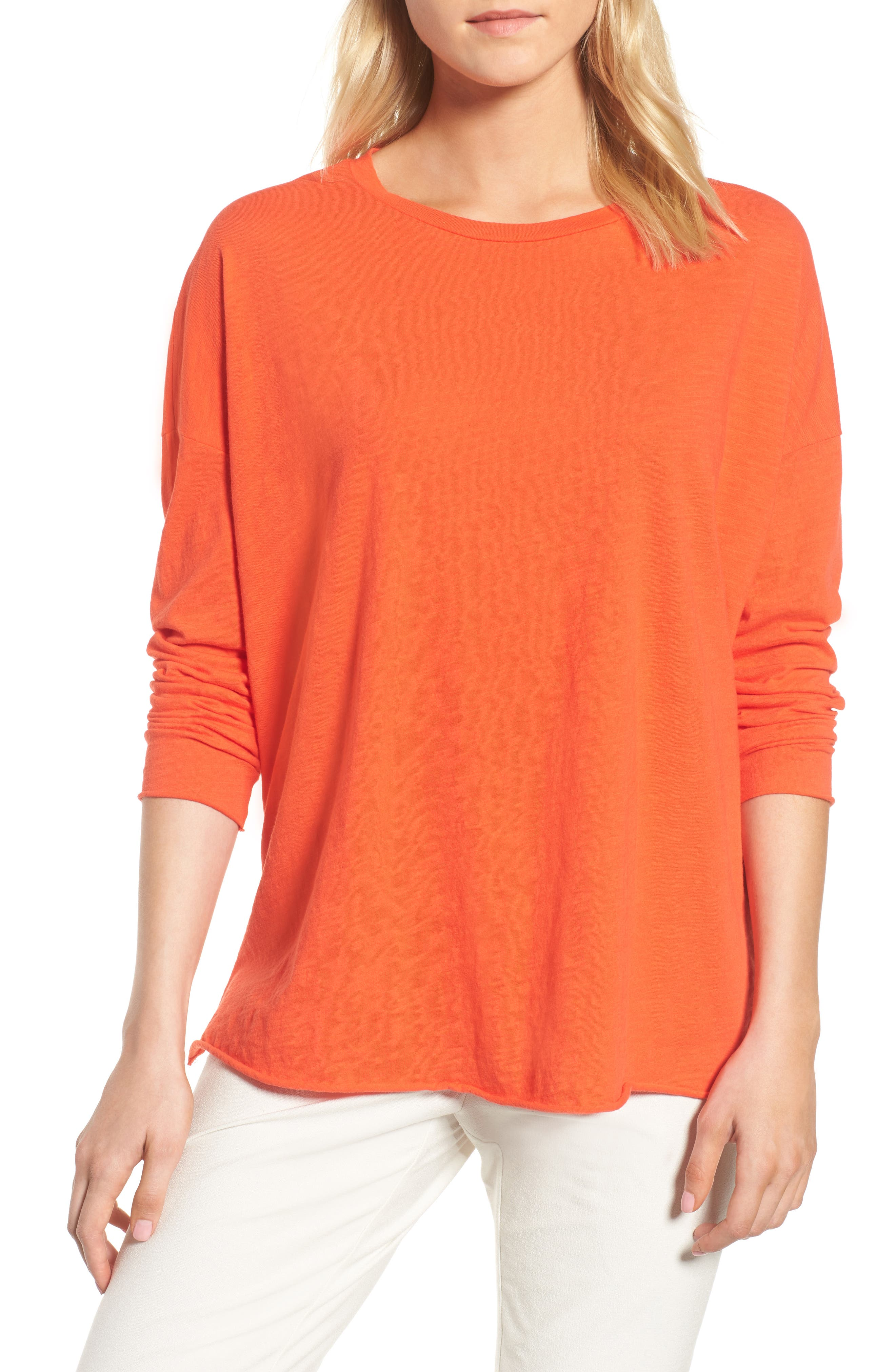 Eileen Fisher Organic Cotton Knit Top
