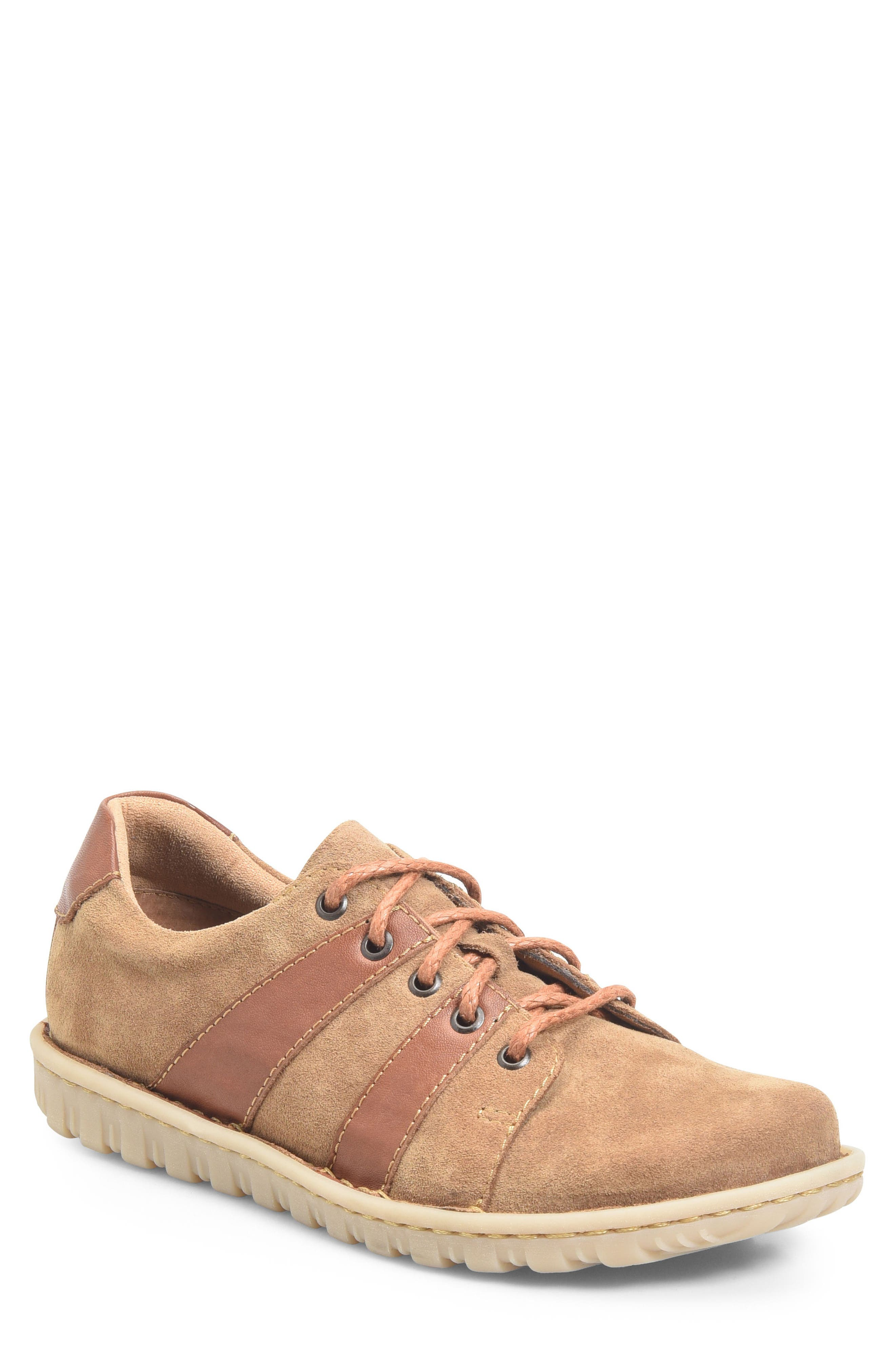 Pool Plain Toe Derby,                         Main,                         color, Brown/ Rust Leather