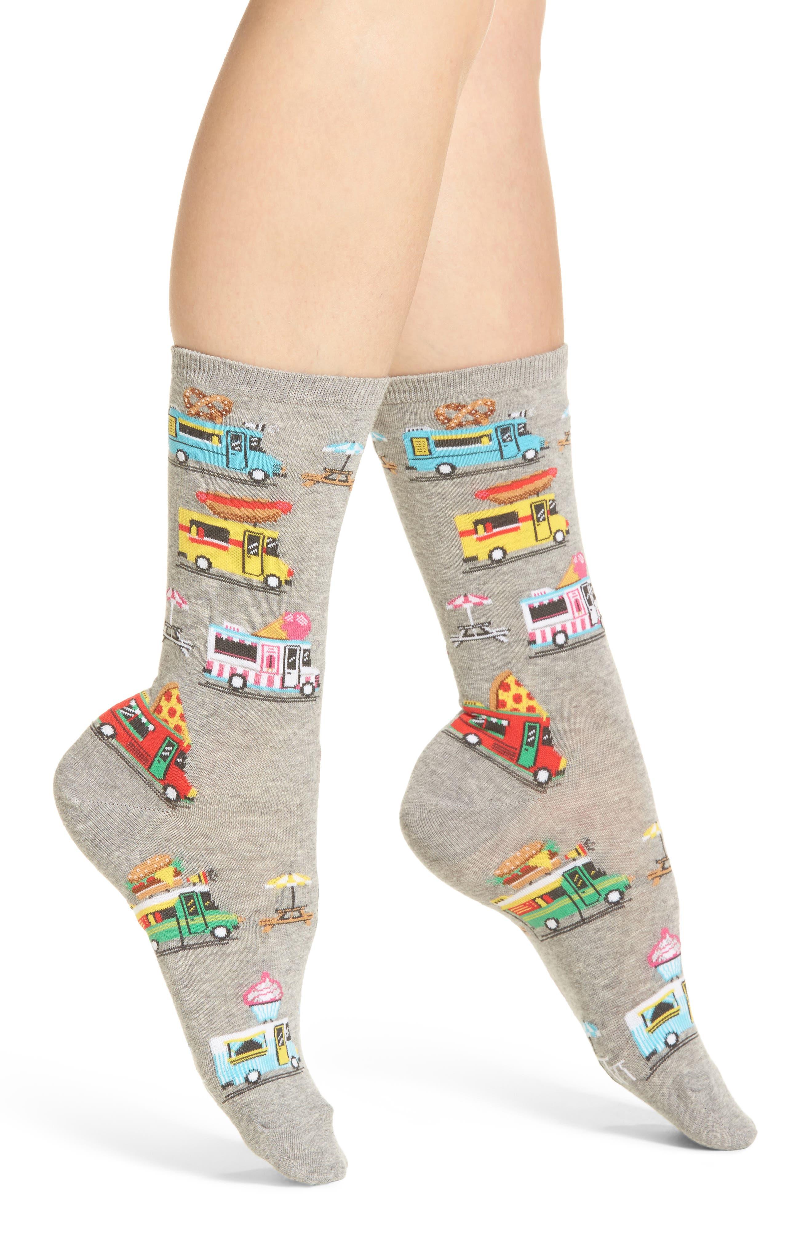 Hot Sox Food Trucks Crew Socks (3 for $15)