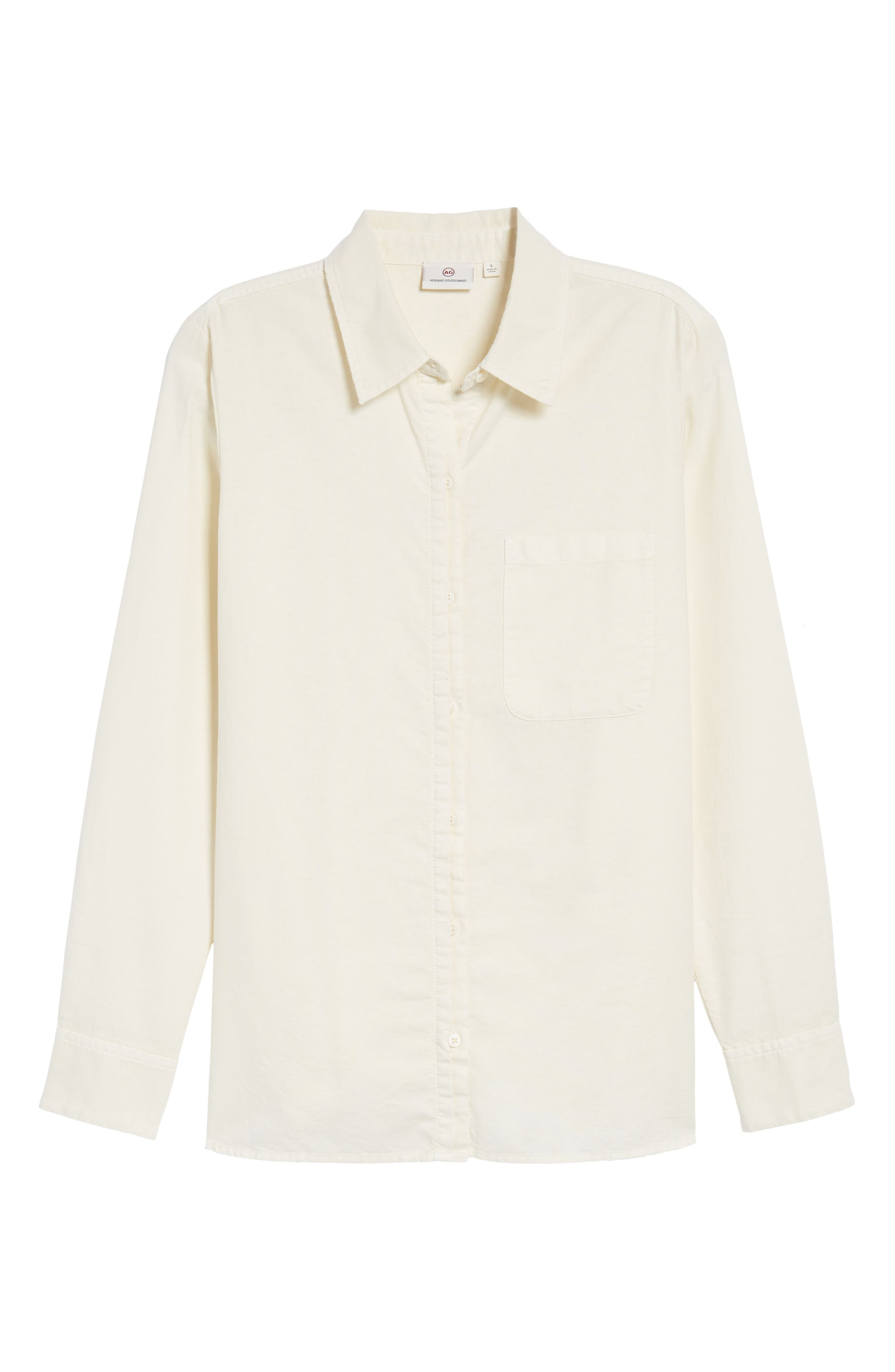 Shana Woven Shirt,                             Alternate thumbnail 6, color,                             Sunbaked Misty Morning