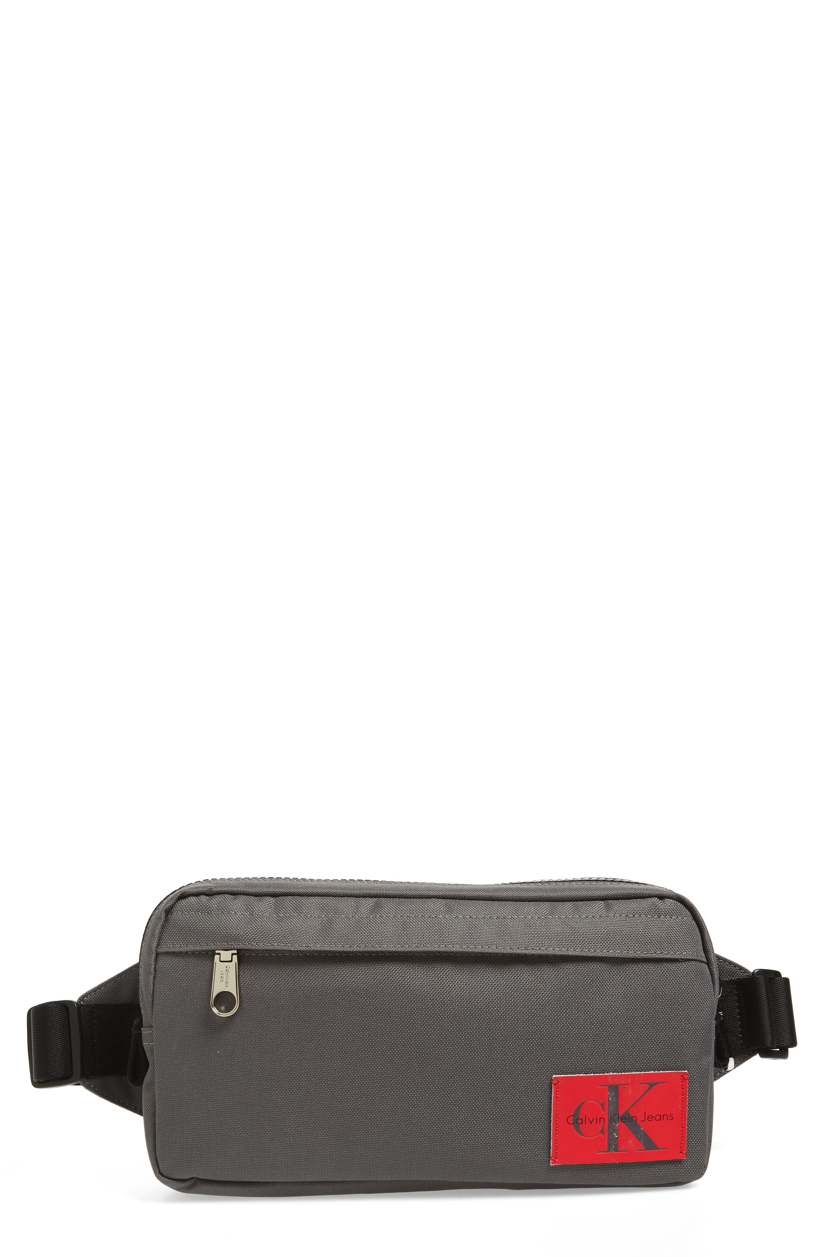CONVERTIBLE FANNY PACK - GREY