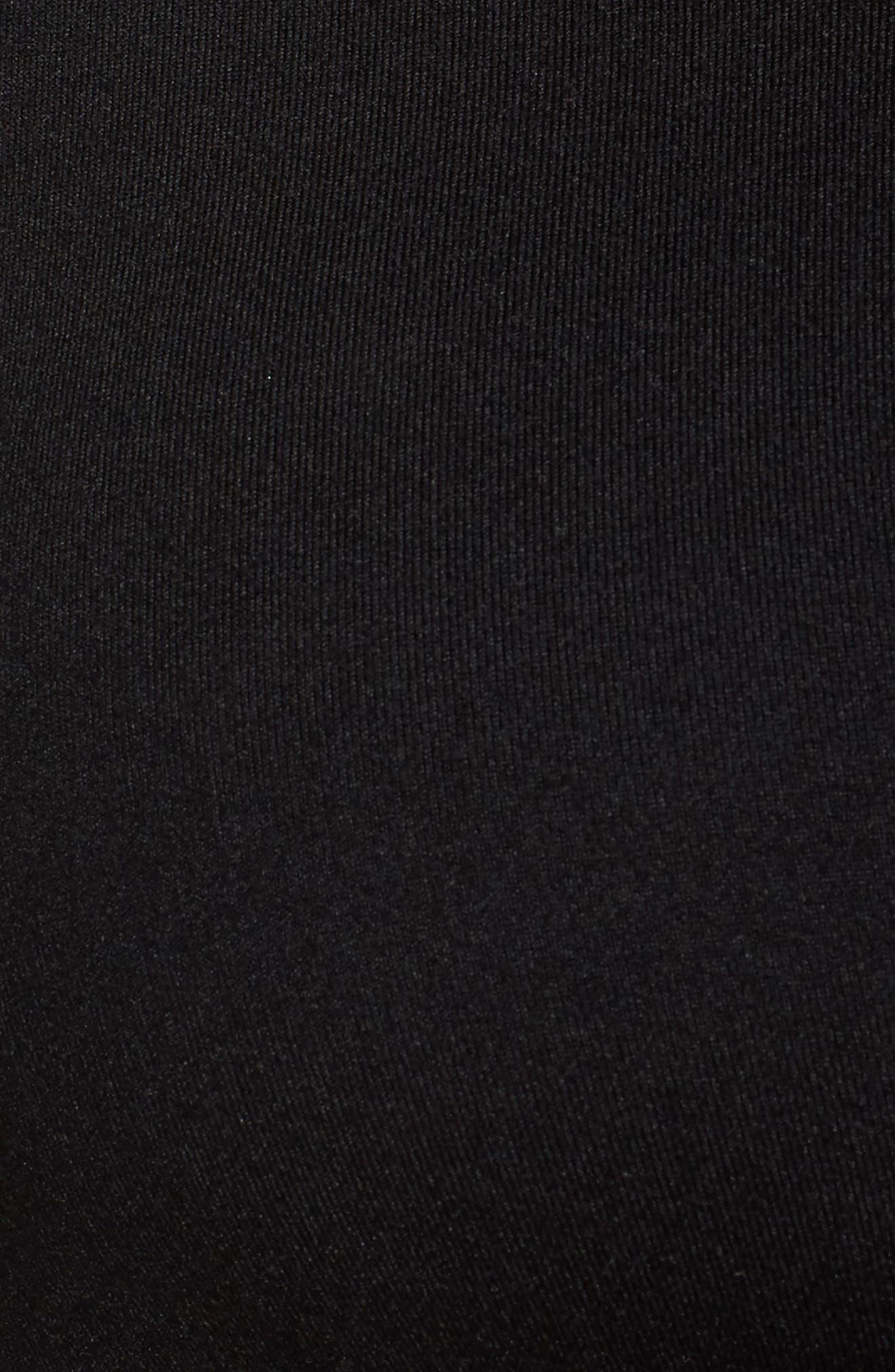 Harness Sports Bra,                             Alternate thumbnail 6, color,                             Black