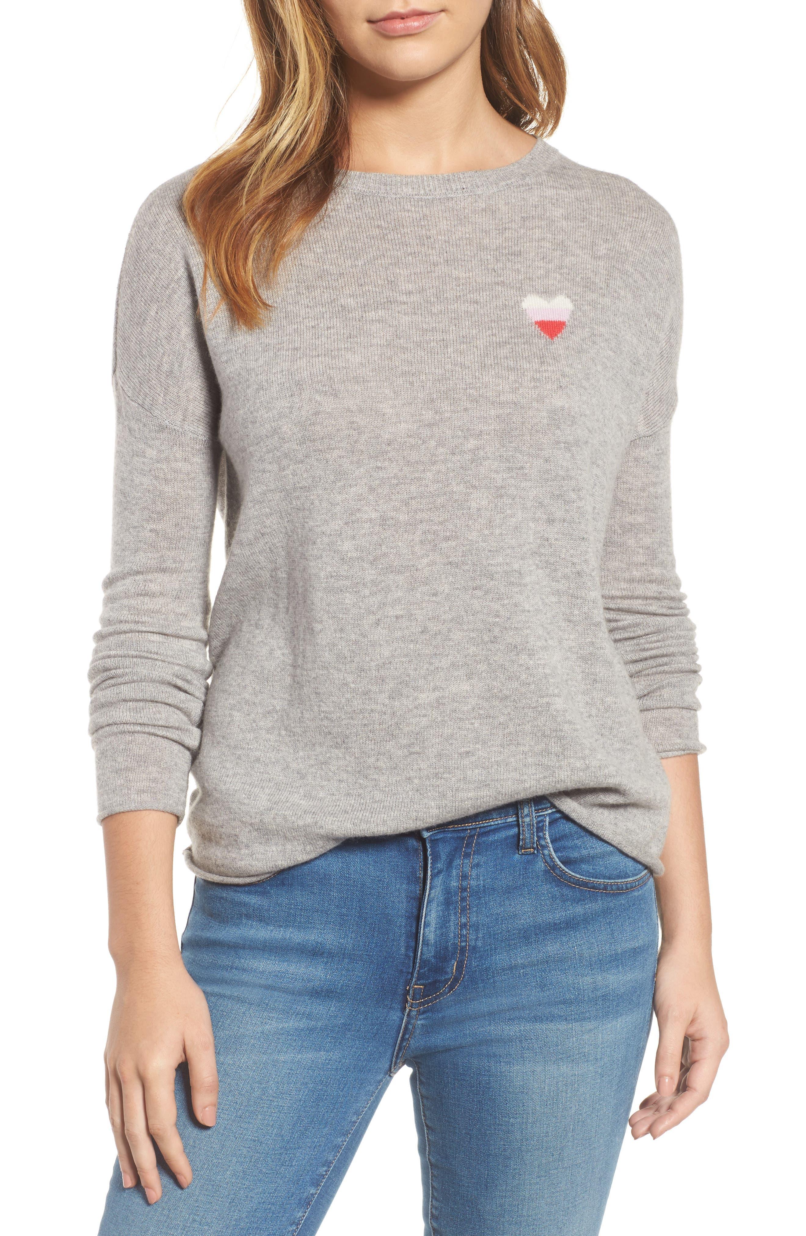 Velvet by Graham & Spencer Loved Cashmere Blend Sweater
