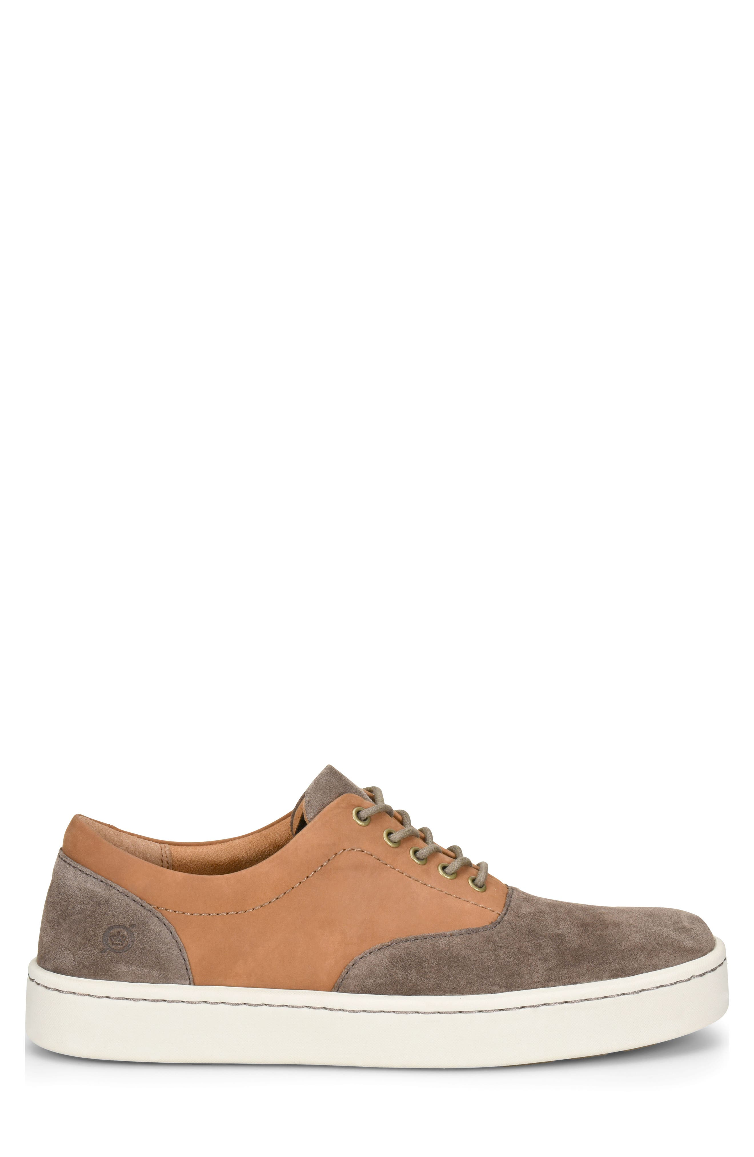 Keystone Low Top Sneaker,                             Alternate thumbnail 3, color,                             Taupe Leather