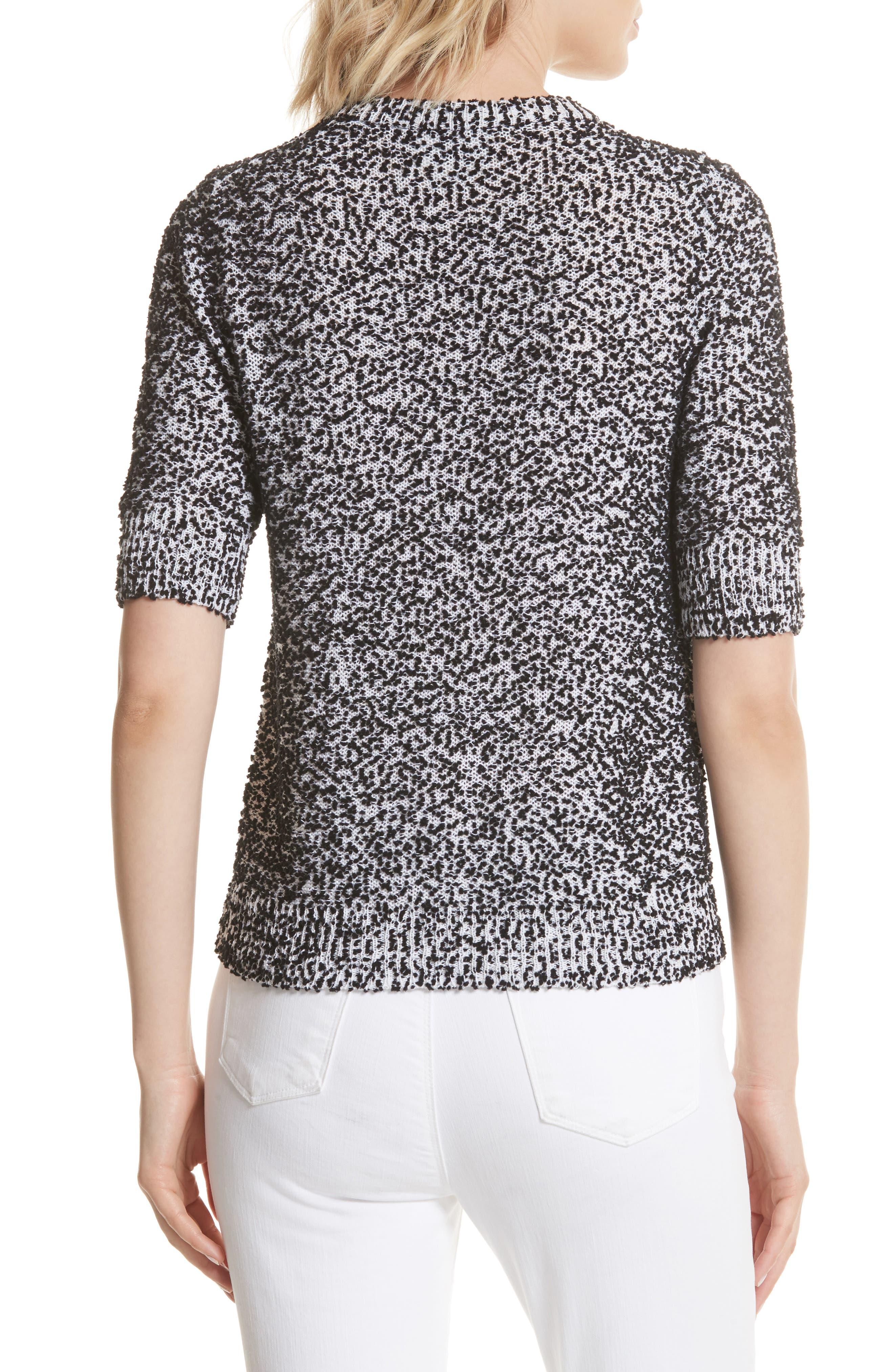 pom sweater,                             Alternate thumbnail 2, color,                             Black