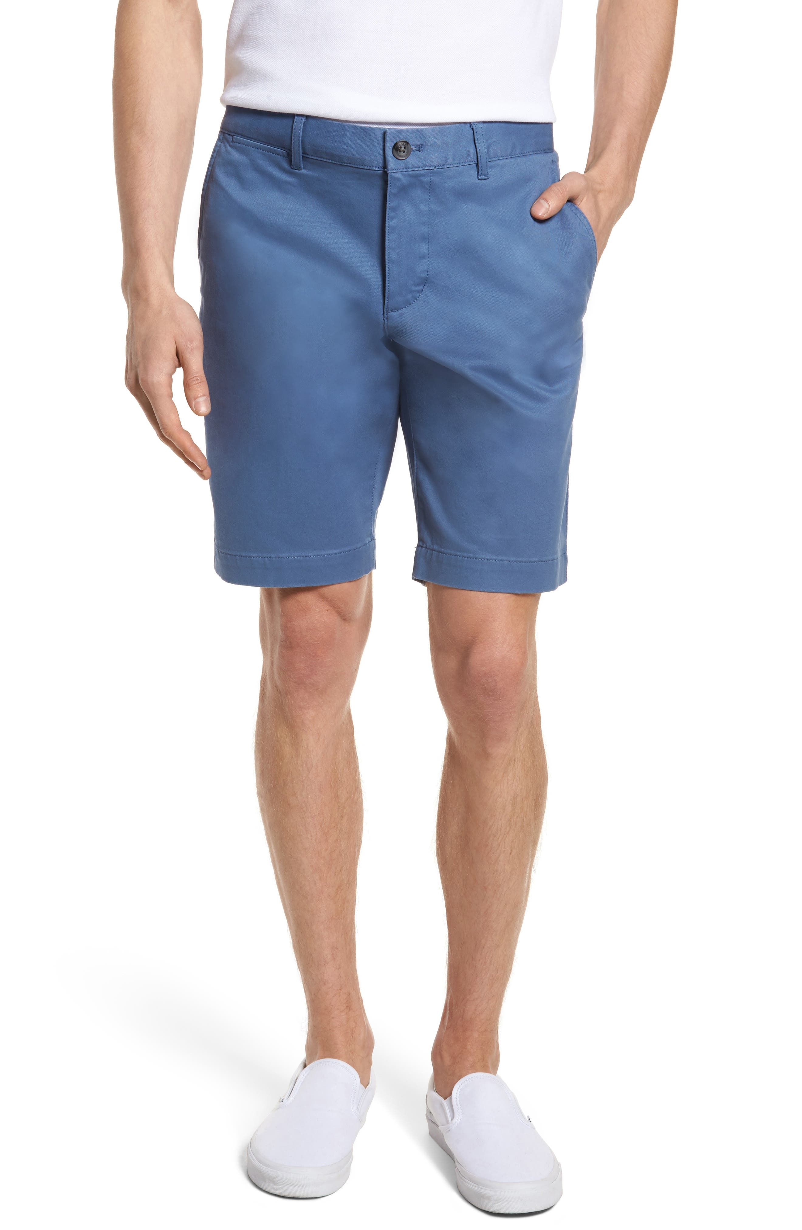 Slim Fit Chino Shorts,                             Main thumbnail 1, color,                             King
