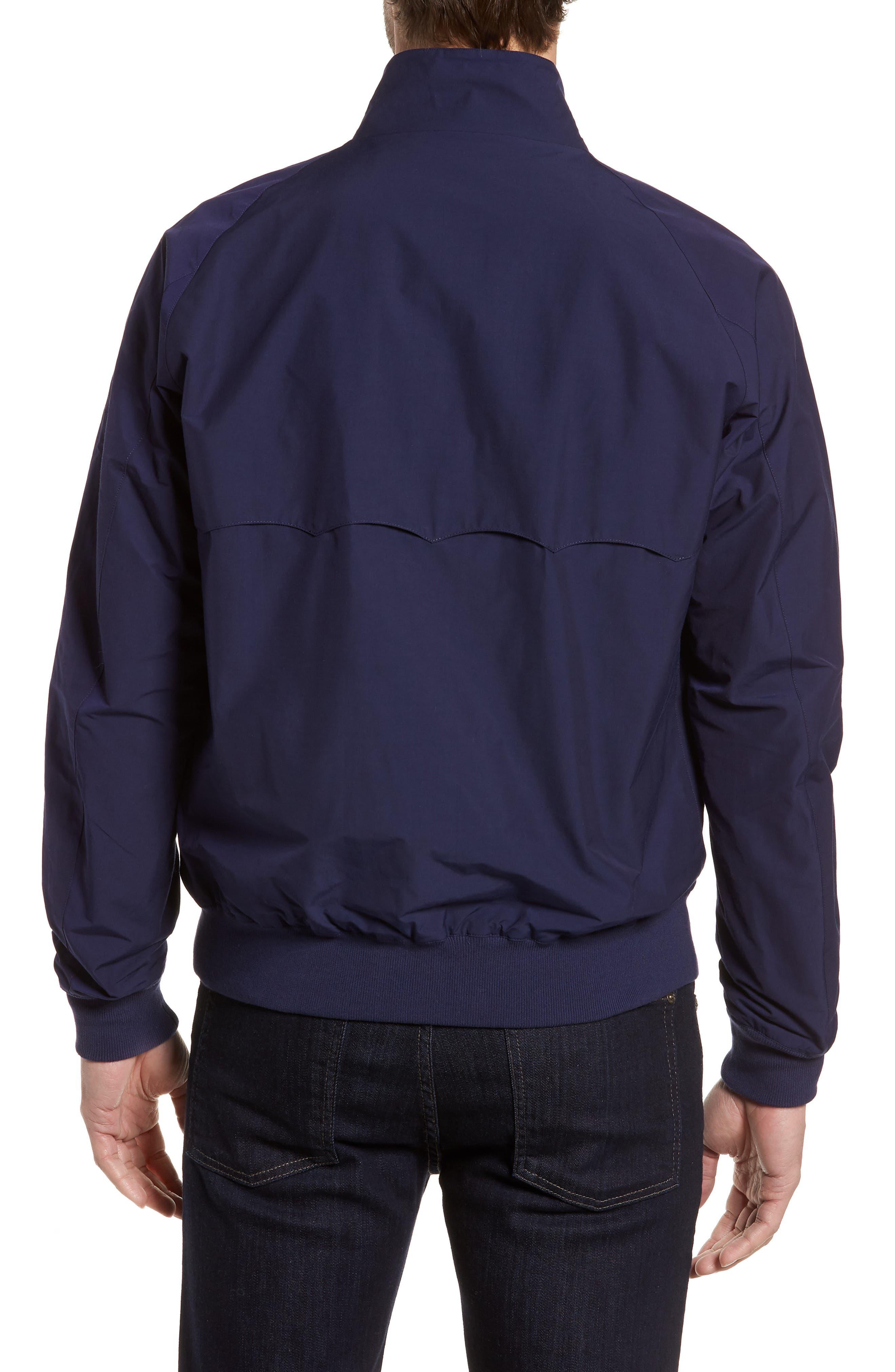 G9 Water Repellent Harrington Jacket,                             Alternate thumbnail 2, color,                             Indigo