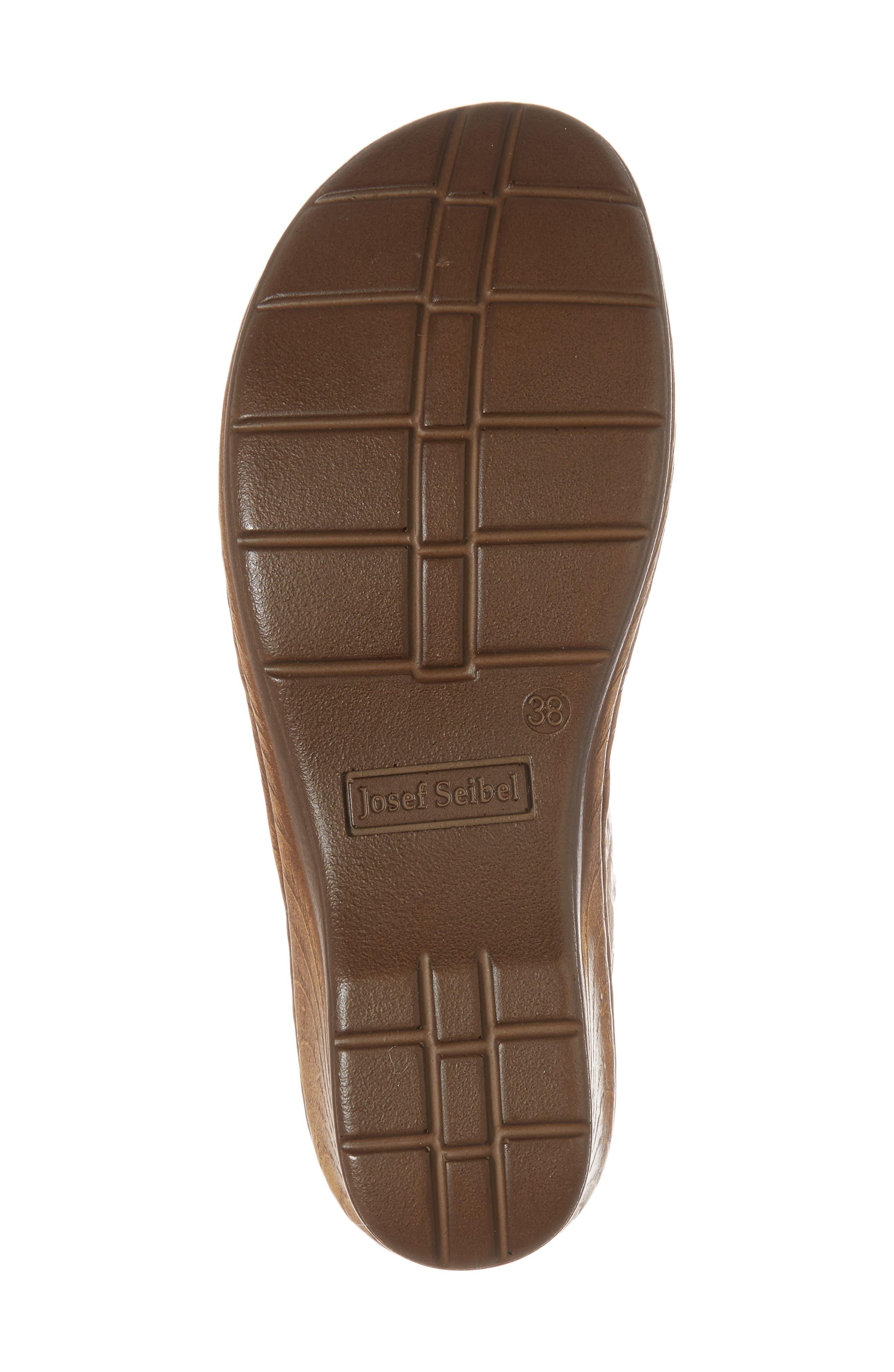 Catalonia 44 Slide Sandal,                             Alternate thumbnail 6, color,                             Beige Leather