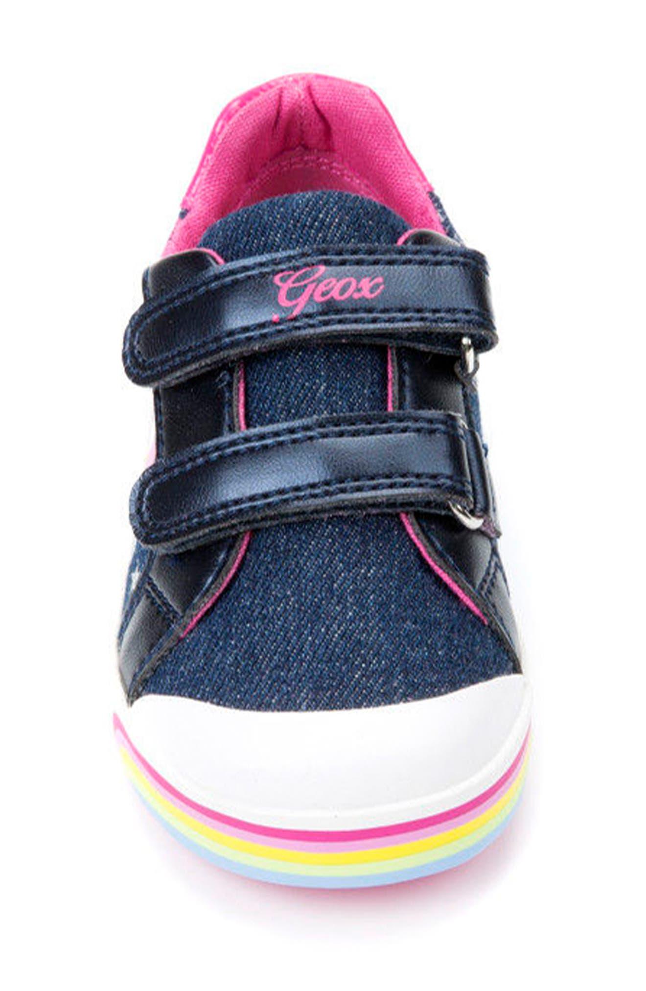 Kilwi Low Top Sneaker,                             Alternate thumbnail 4, color,                             Avio/ Multicolor