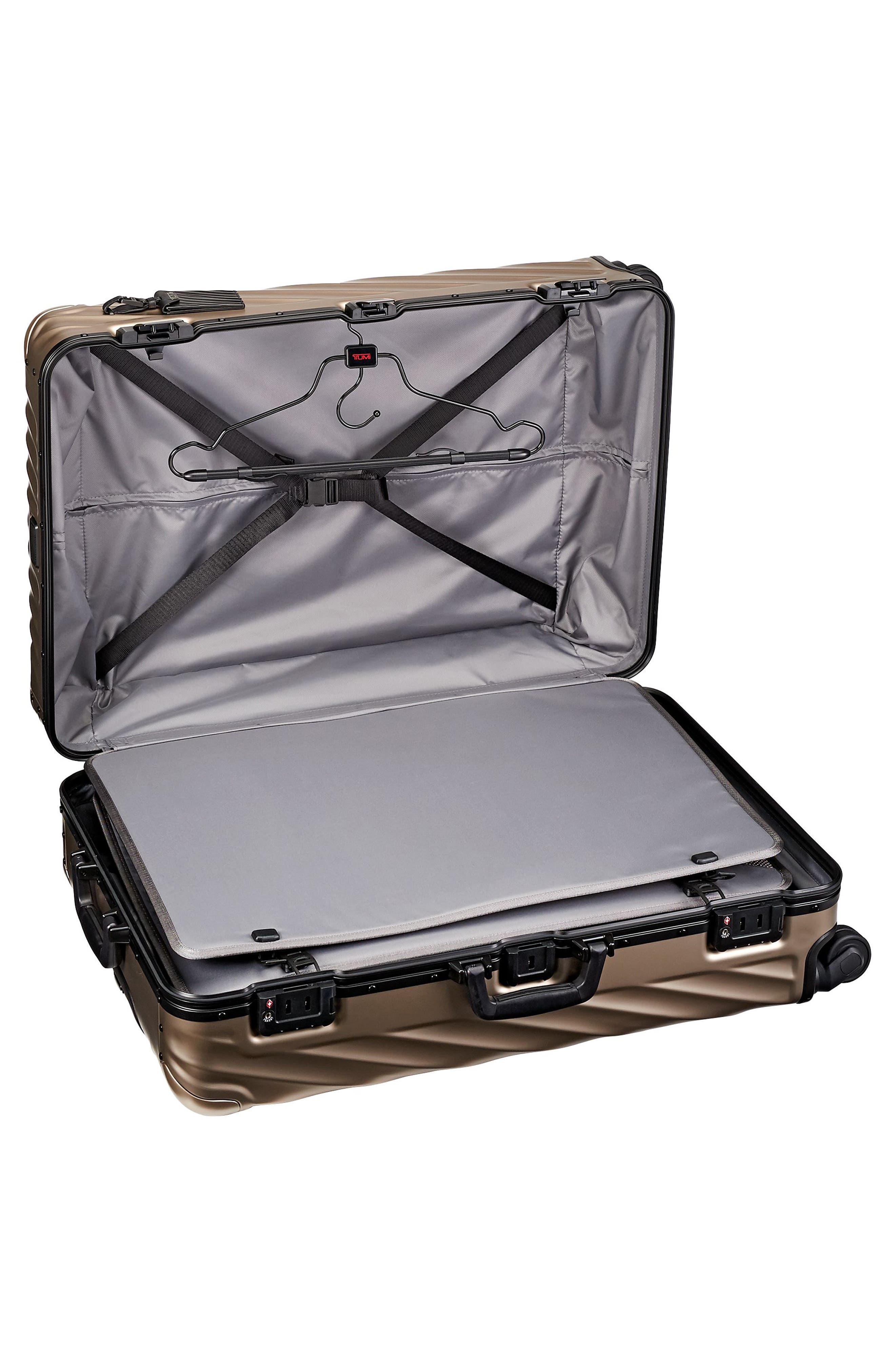 19-Degree 30-Inch Aluminum Spinner Packing Case,                             Alternate thumbnail 2, color,                             Ivory Gold