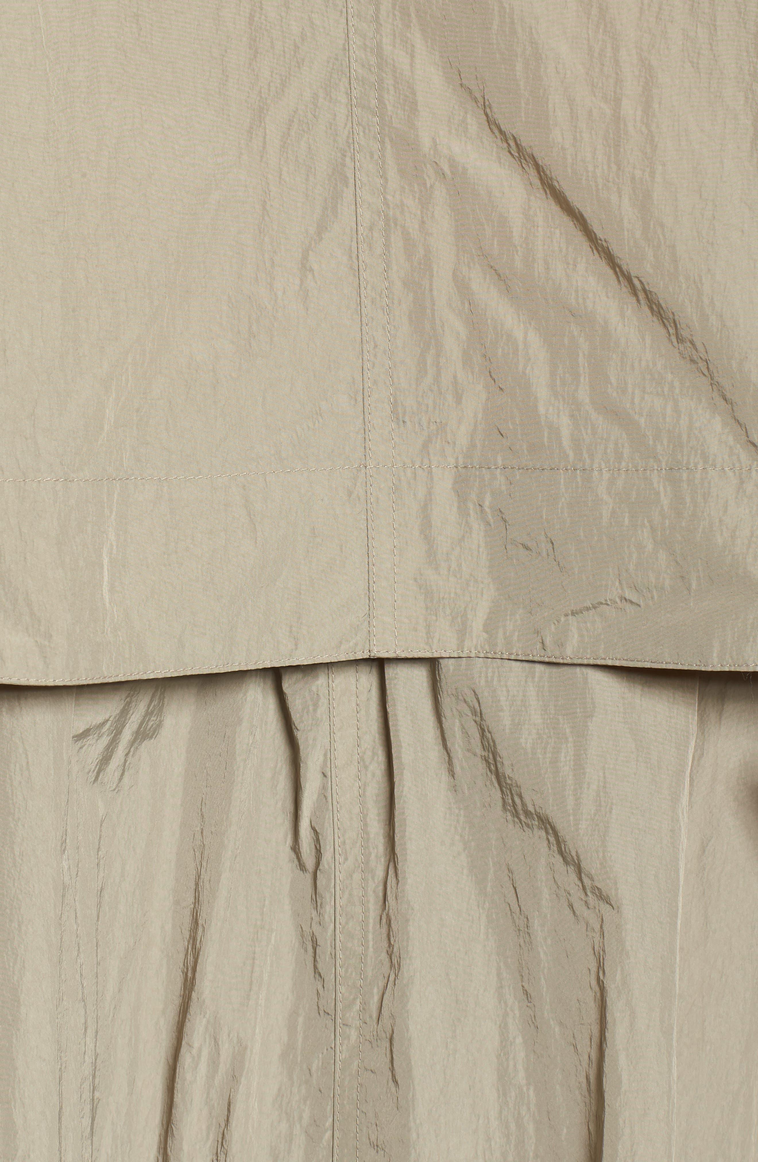 Florence Hooded Jacket,                             Alternate thumbnail 5, color,                             Dune