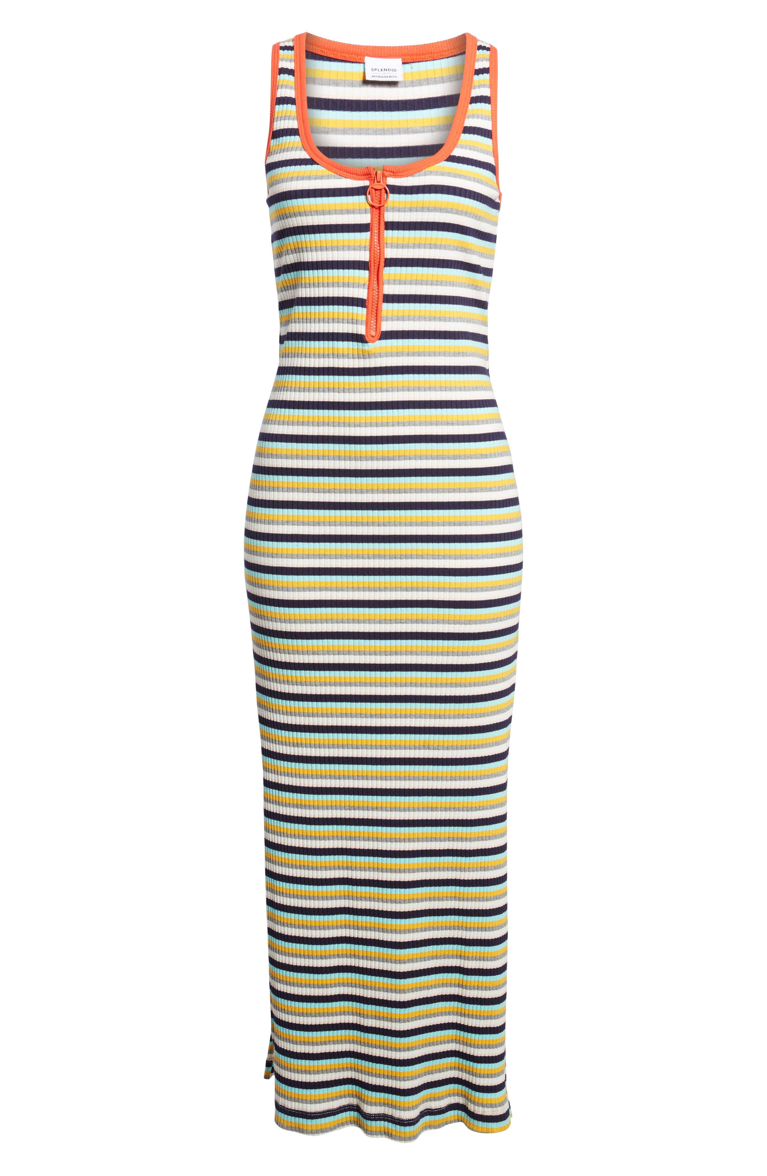 x Margherita Banda Maxi Dress,                             Alternate thumbnail 7, color,                             Multi