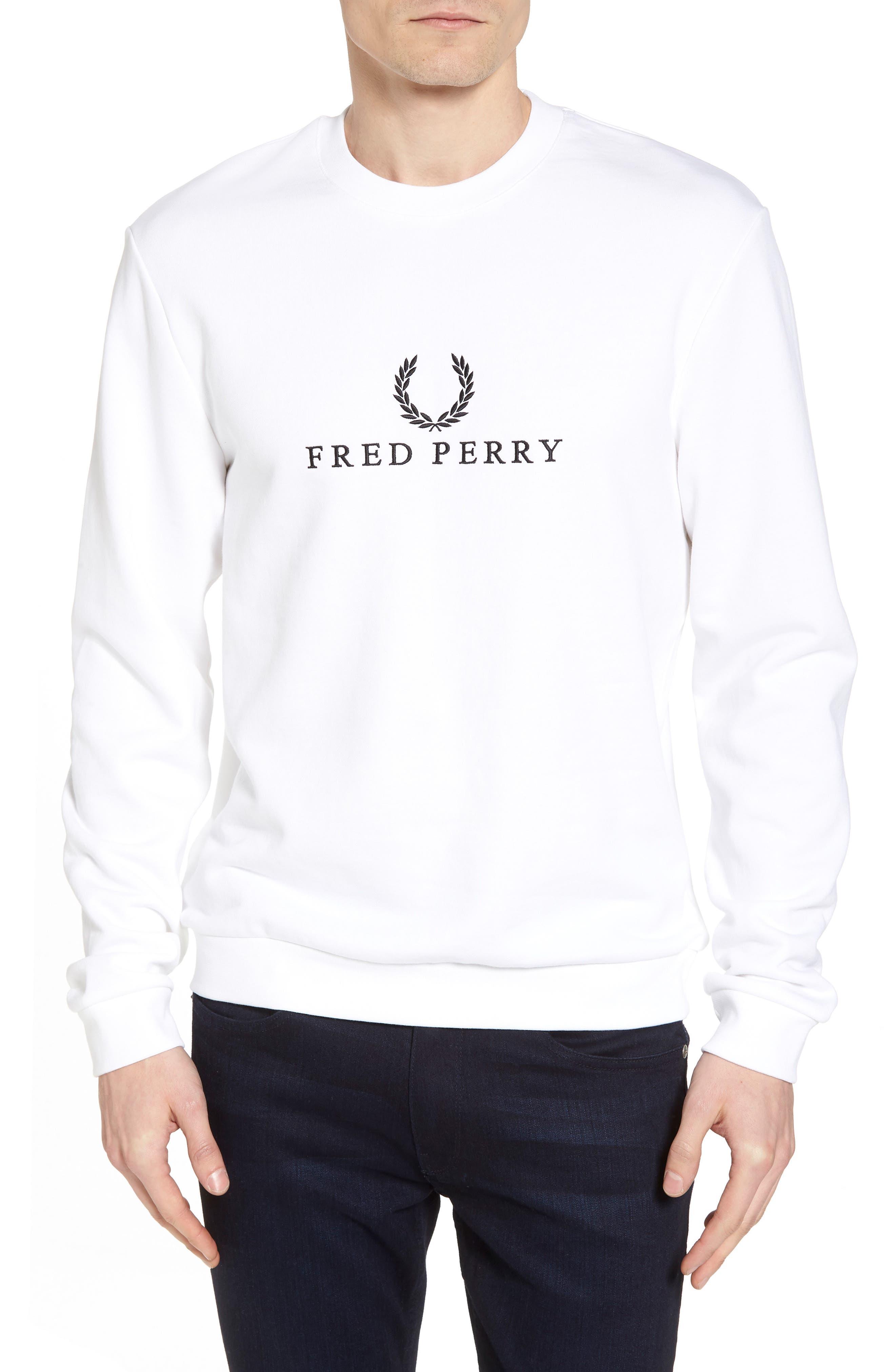 Tennis Sweatshirt,                             Main thumbnail 1, color,                             White