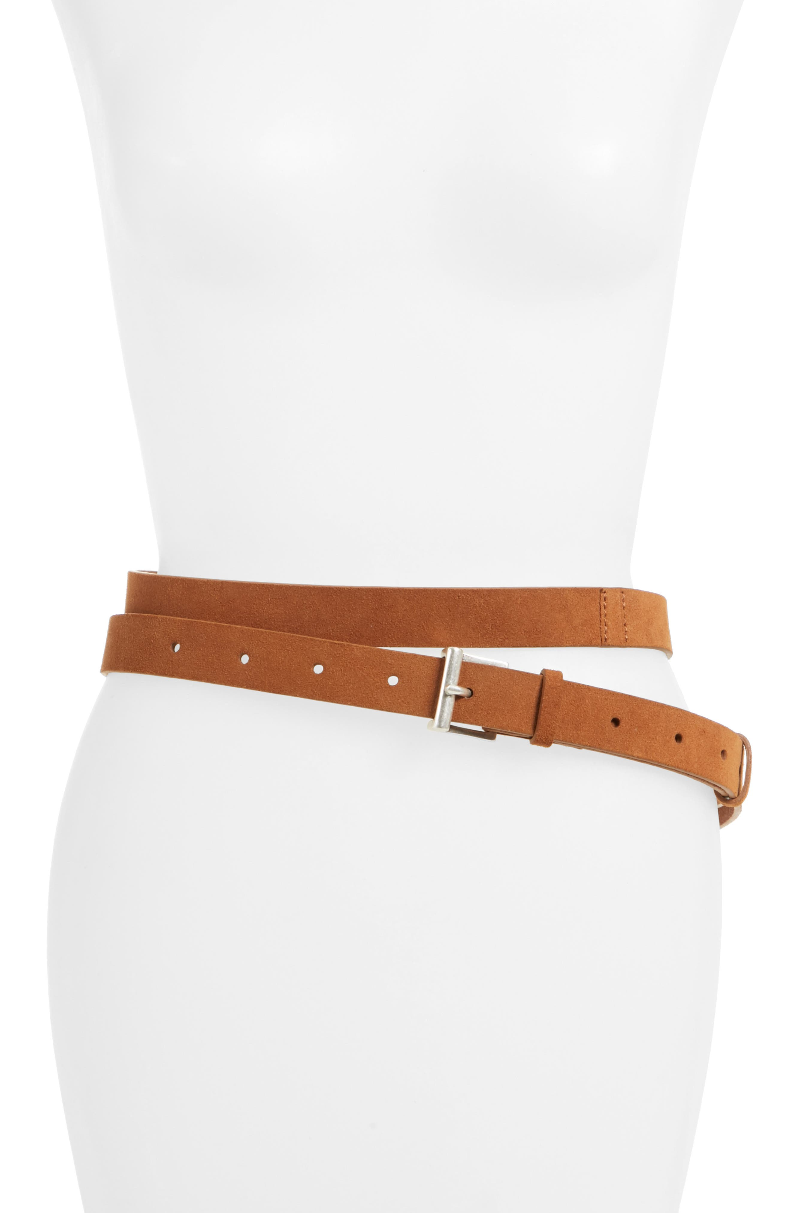 FRAME Wraparound Leather Belt