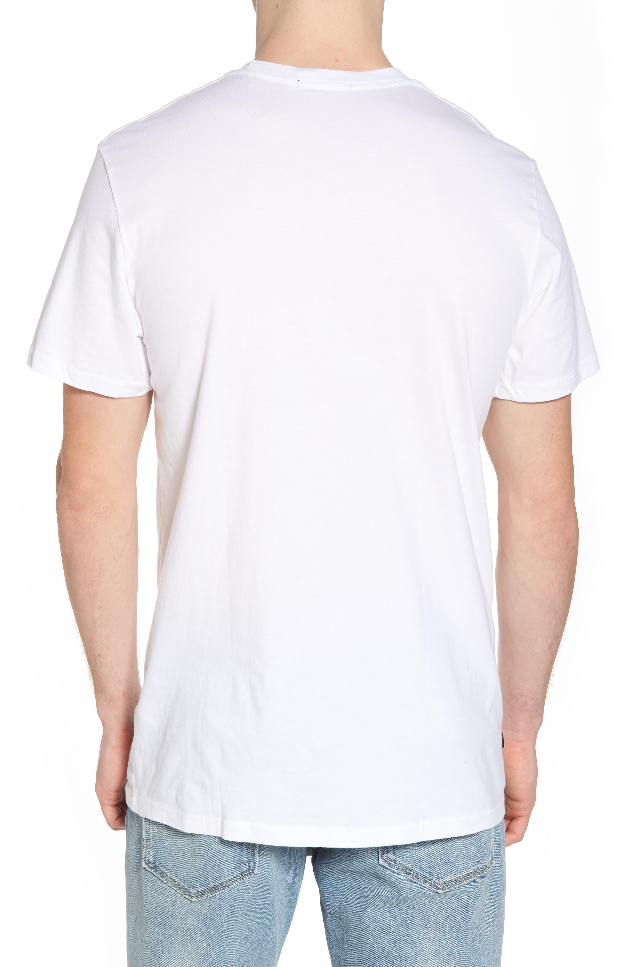 Radioactive Graphic T-Shirt,                             Alternate thumbnail 2, color,                             White