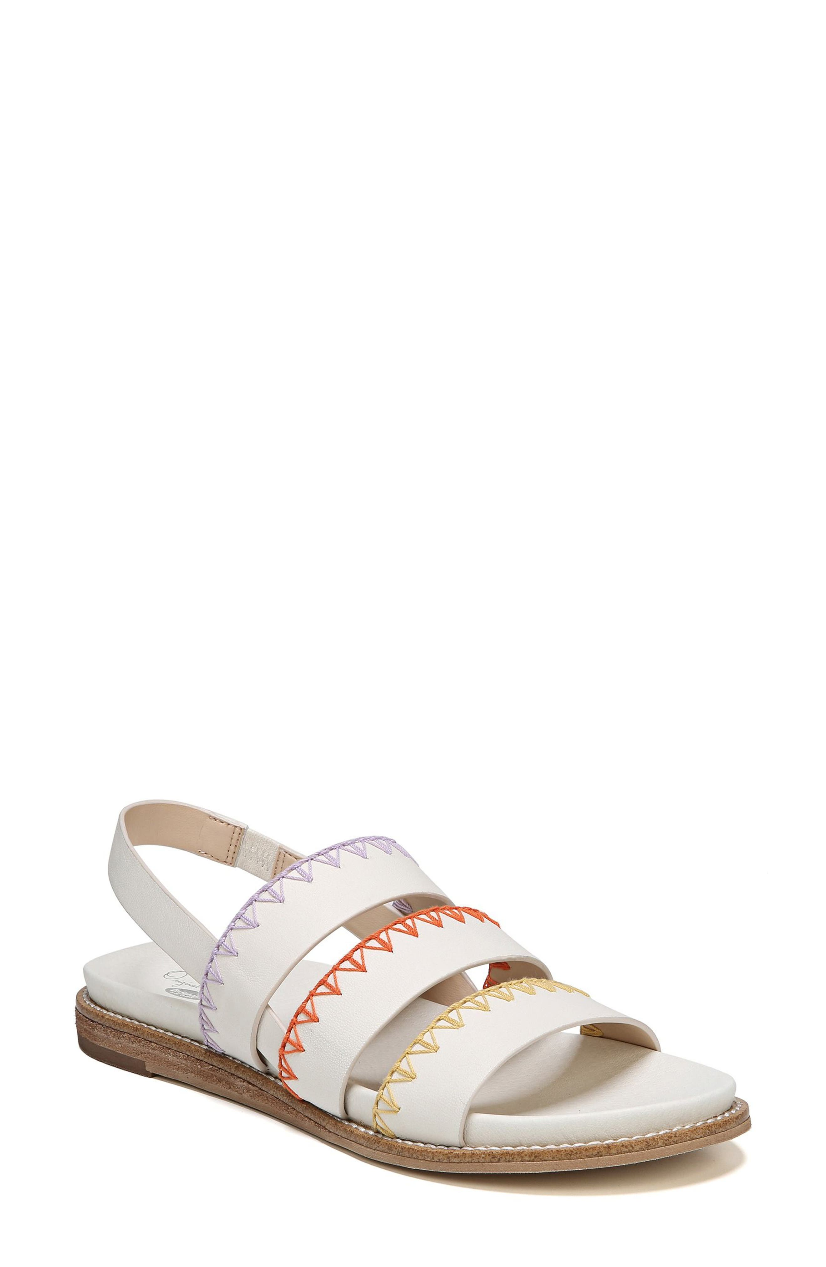 Discover Sandal,                             Main thumbnail 1, color,                             Marshmallow Leather