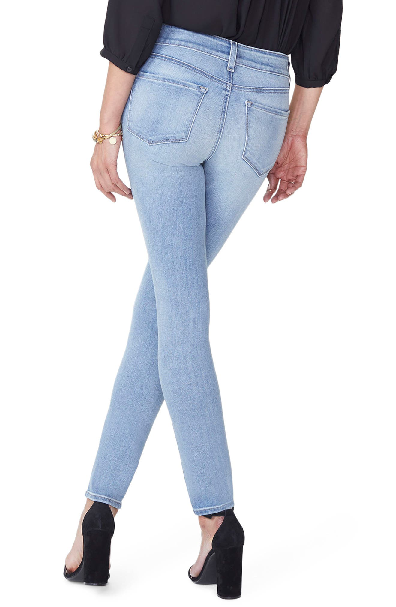 Ami Stretch Skinny Jeans,                             Alternate thumbnail 2, color,                             Dreamstate