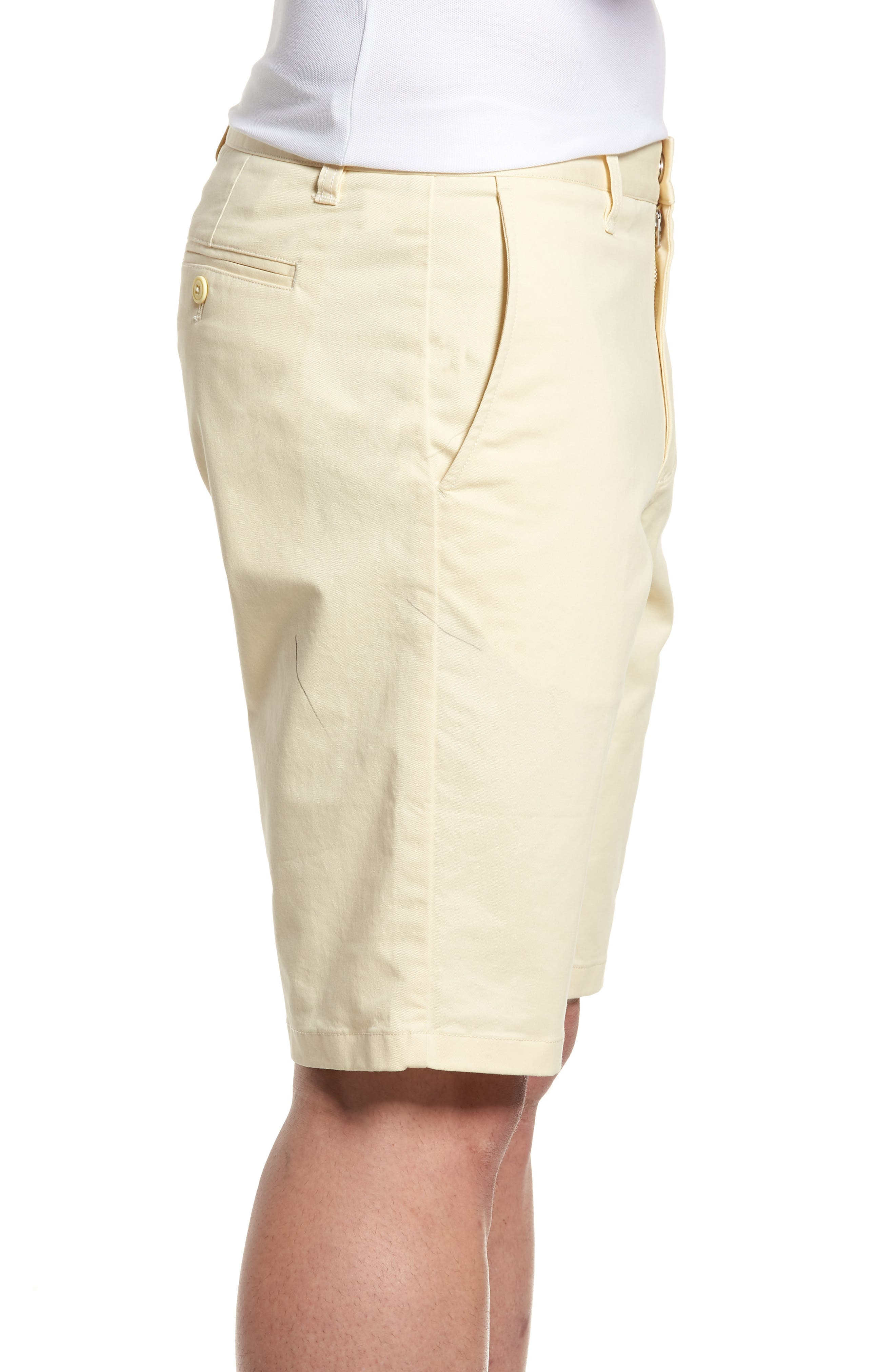Stretch Washed Chino 11-Inch Shorts,                             Alternate thumbnail 3, color,                             Sun In