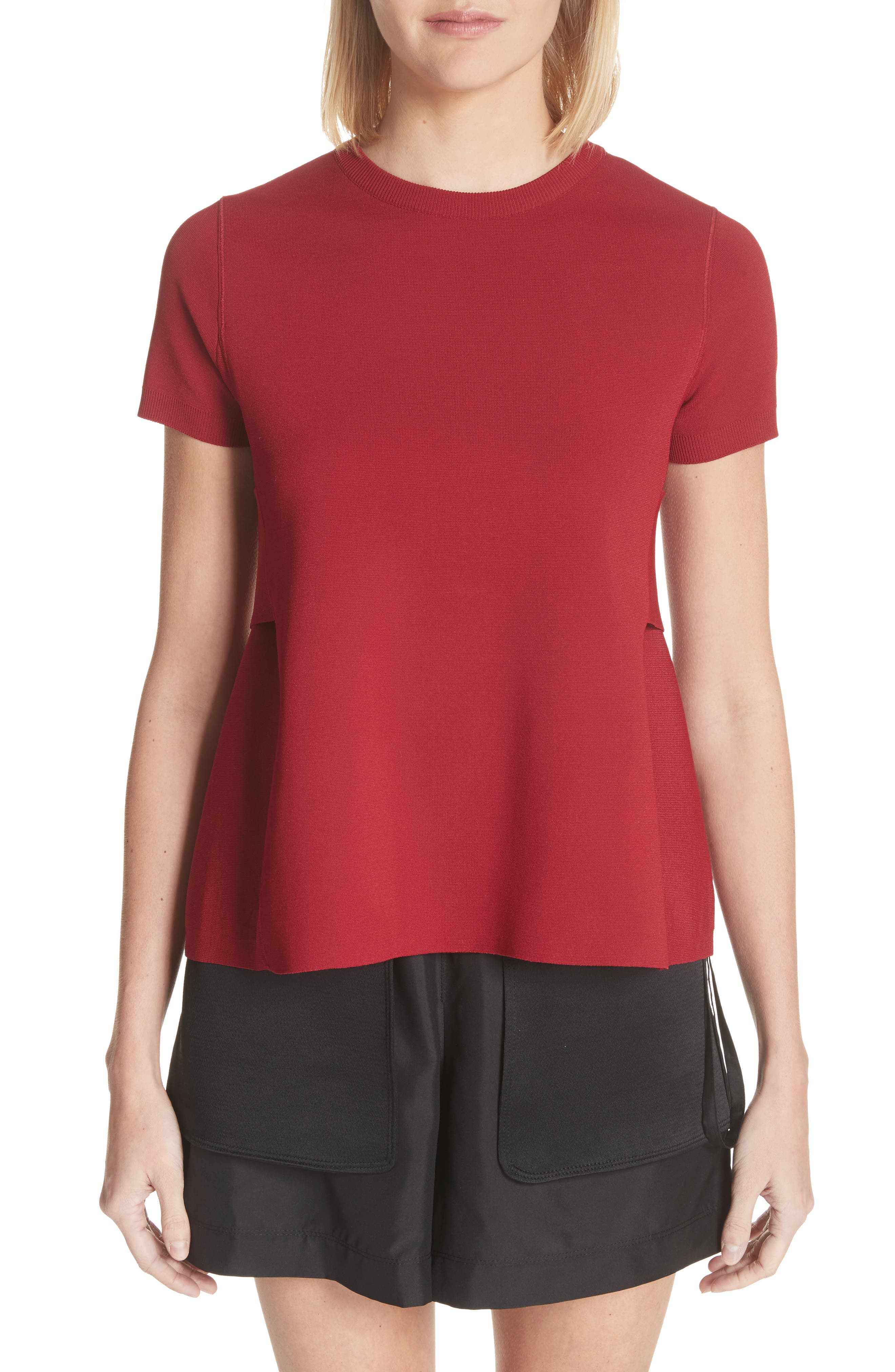 Valentino Martingale Back Knit Top
