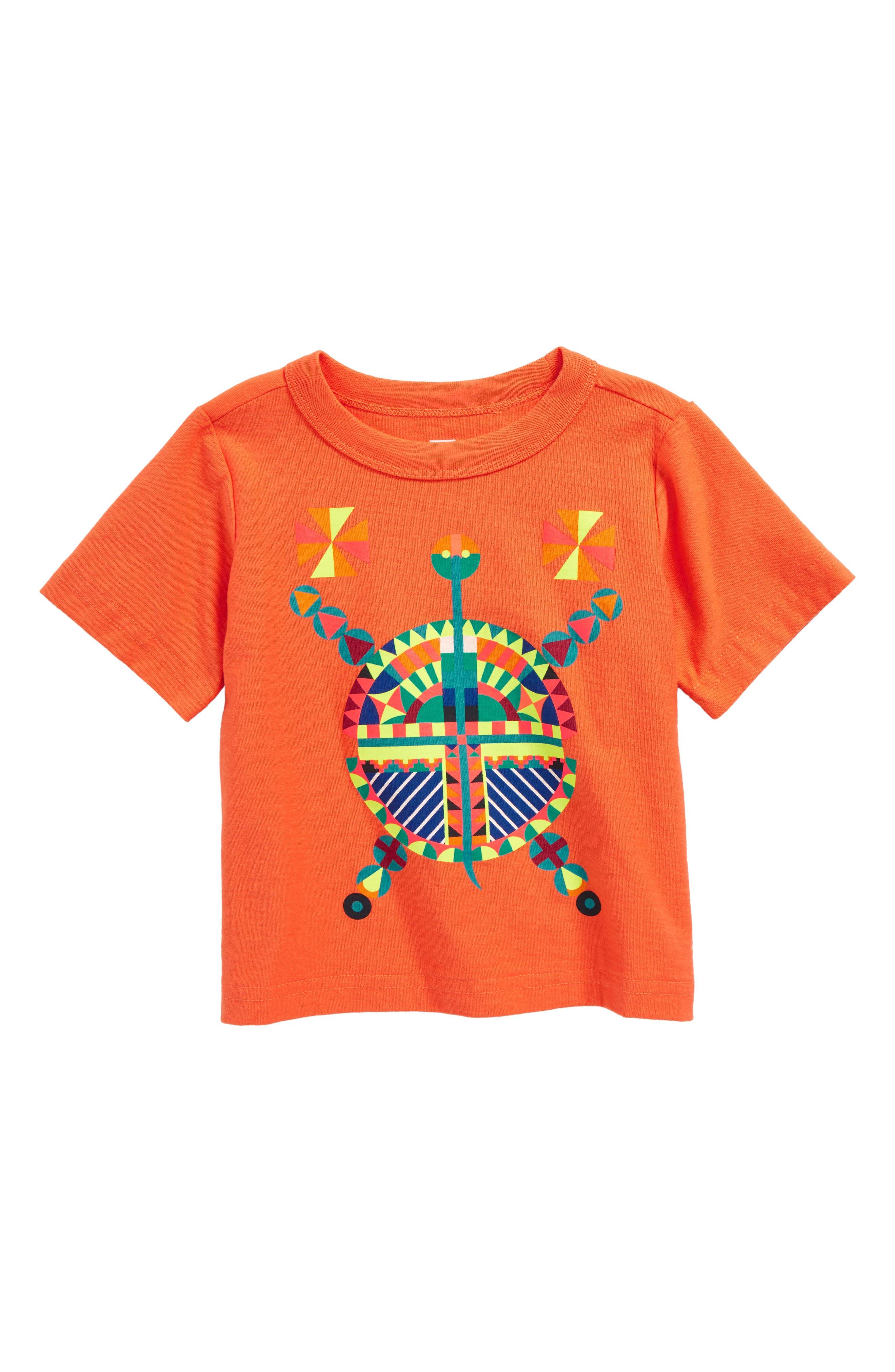 Main Image - Tea Collection Thunder Bringer Graphic T-Shirt (Baby Boys)
