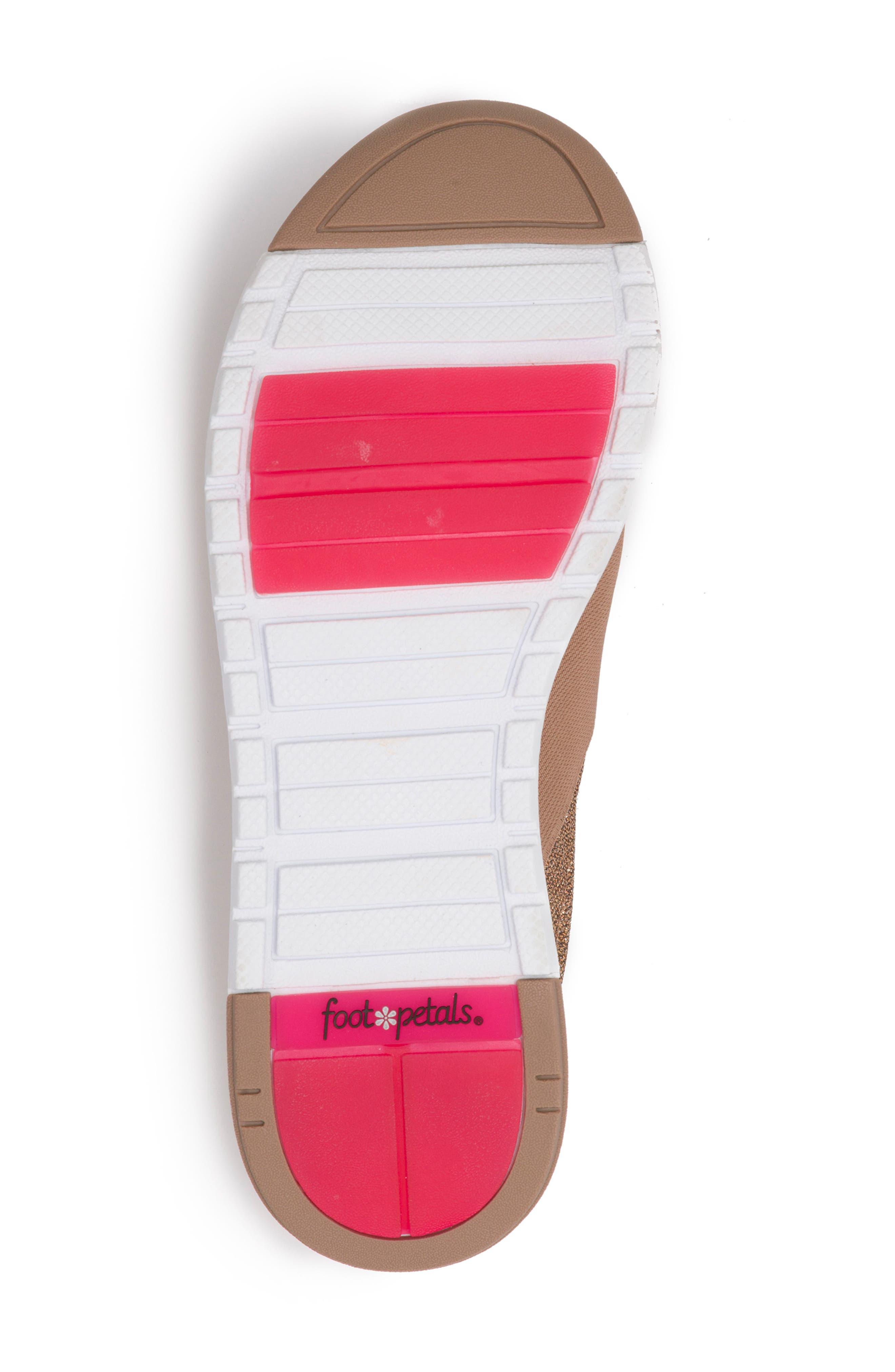 Slip-On Sneaker,                             Alternate thumbnail 6, color,                             Rose Gold Leather