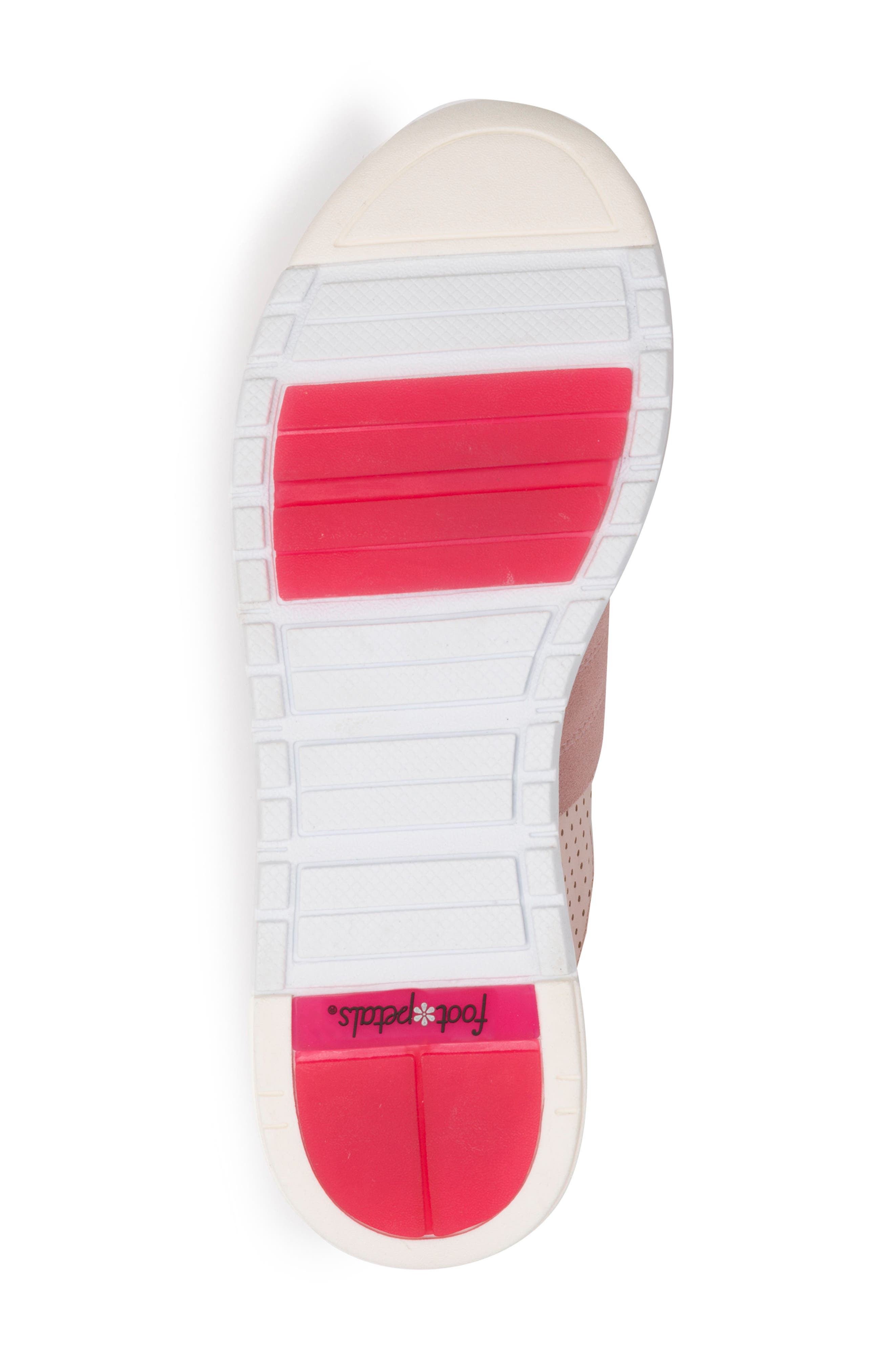 Bea Sneaker,                             Alternate thumbnail 6, color,                             Blush Leather