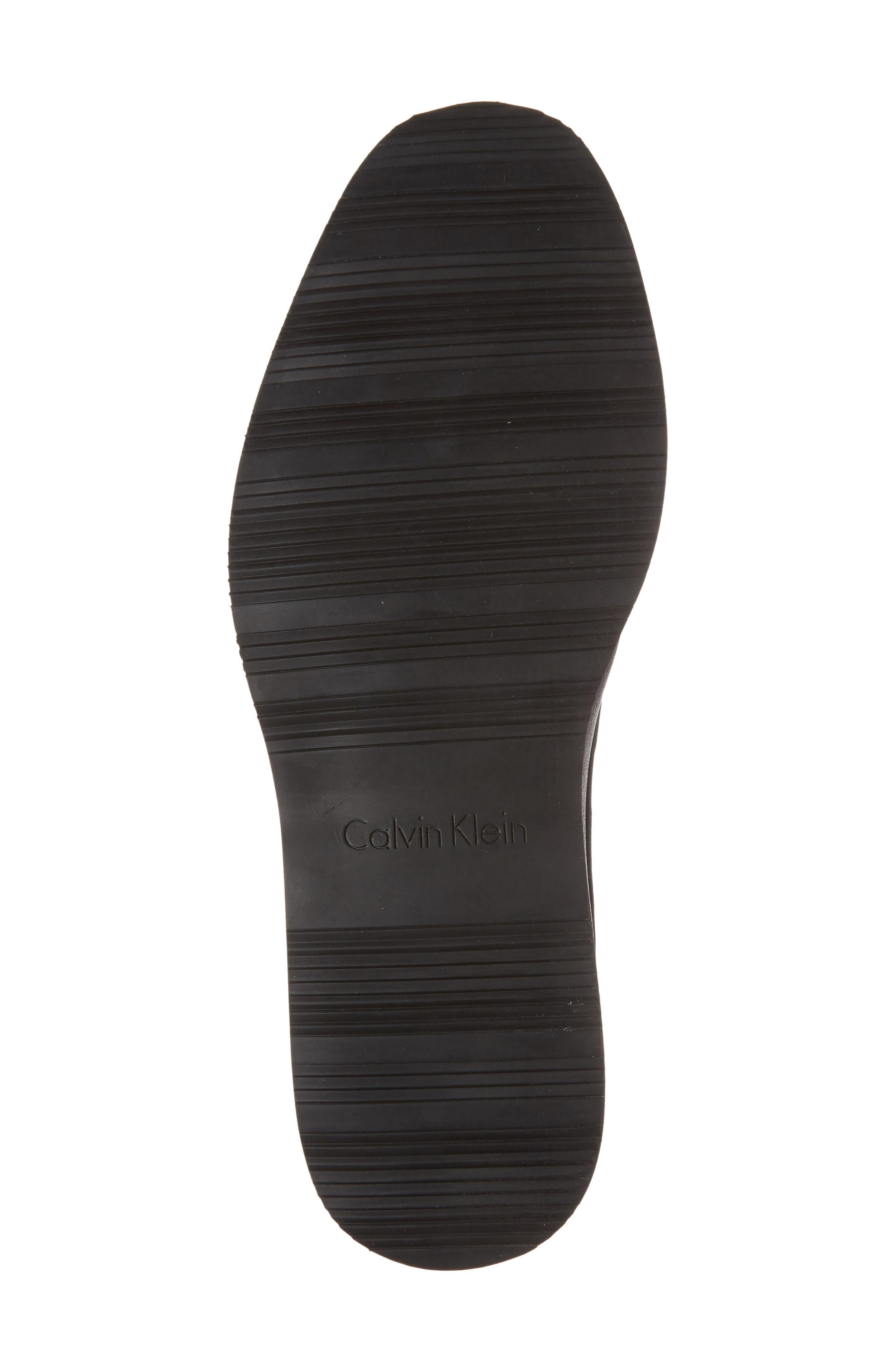 Wilfred Plain Toe Derby,                             Alternate thumbnail 6, color,                             Black