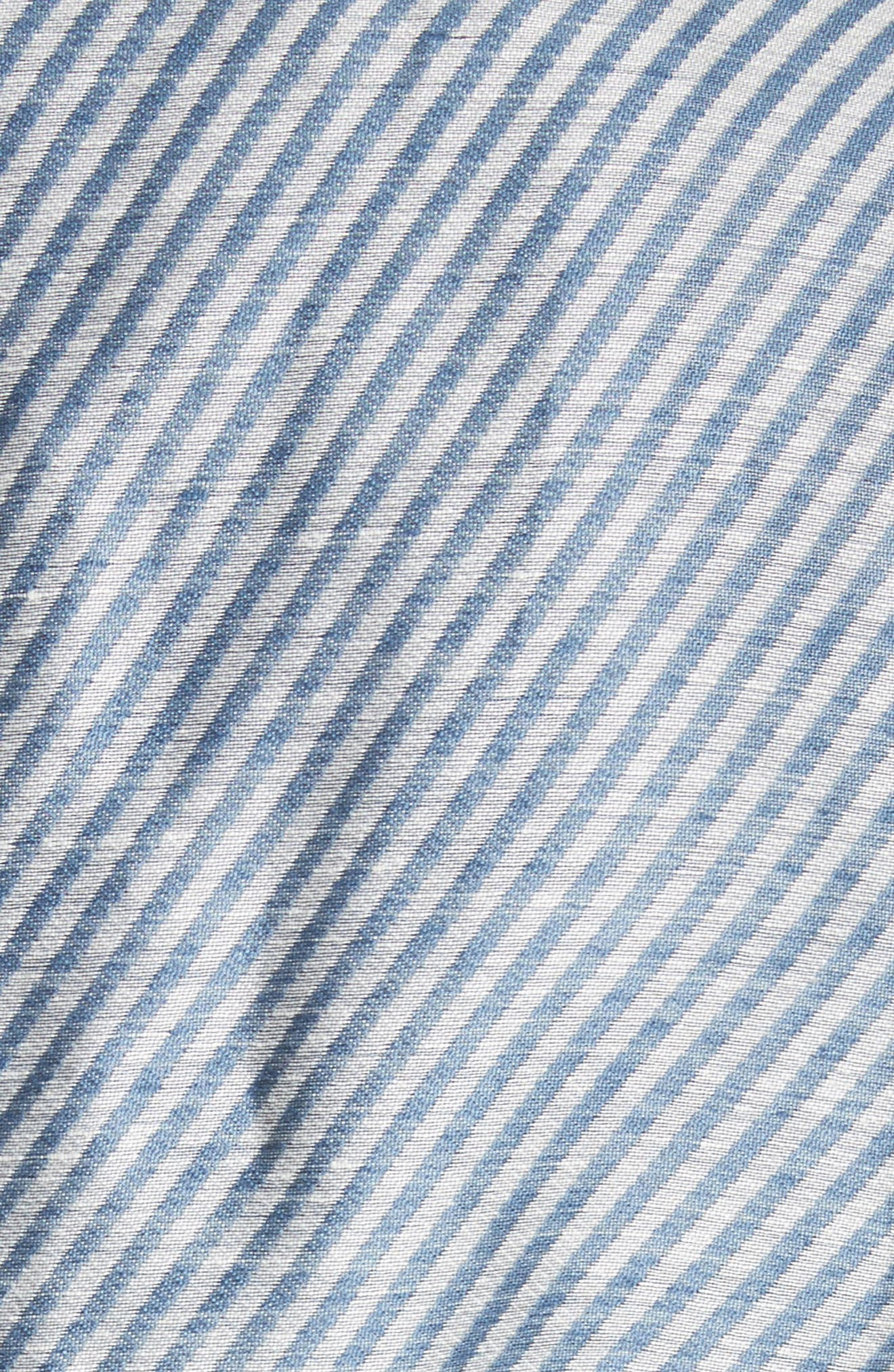 Jojo Sheath Dress,                             Alternate thumbnail 5, color,                             Glaze Blue Multi