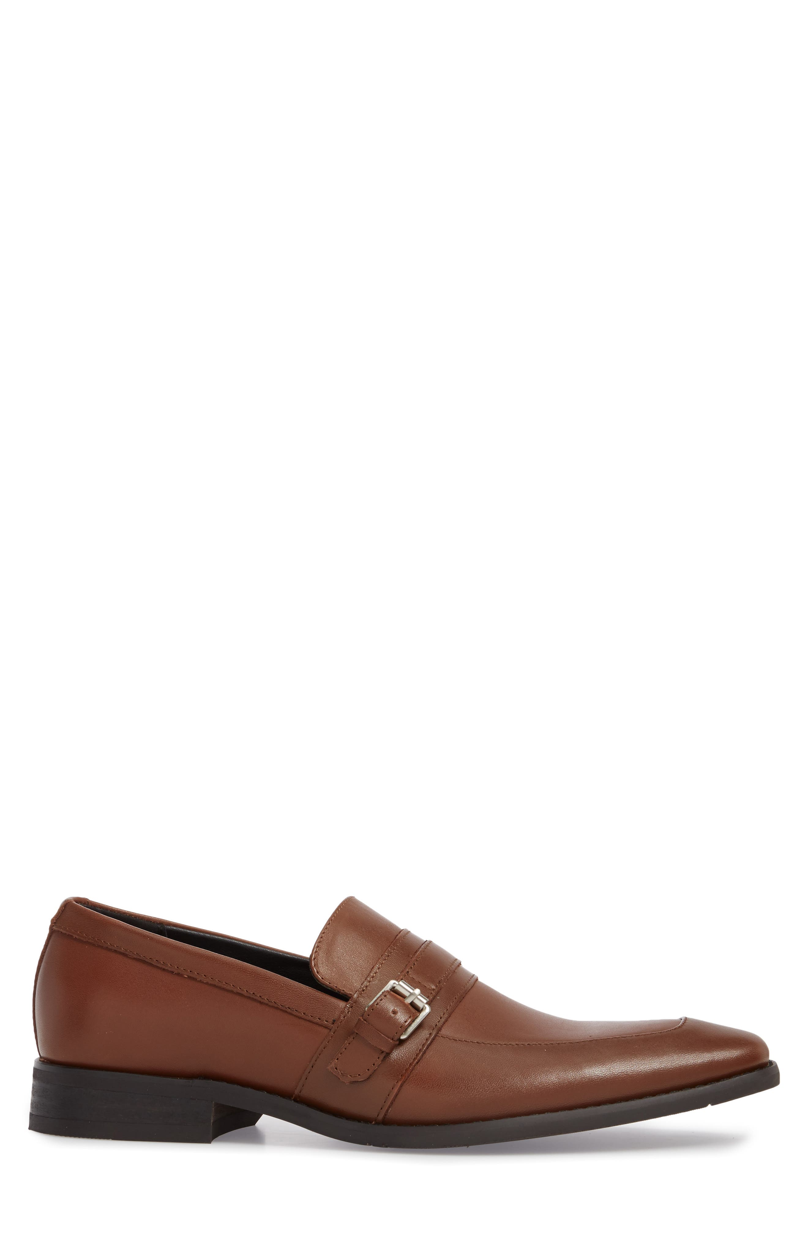 Reyes Loafer,                             Alternate thumbnail 3, color,                             Tan Leather