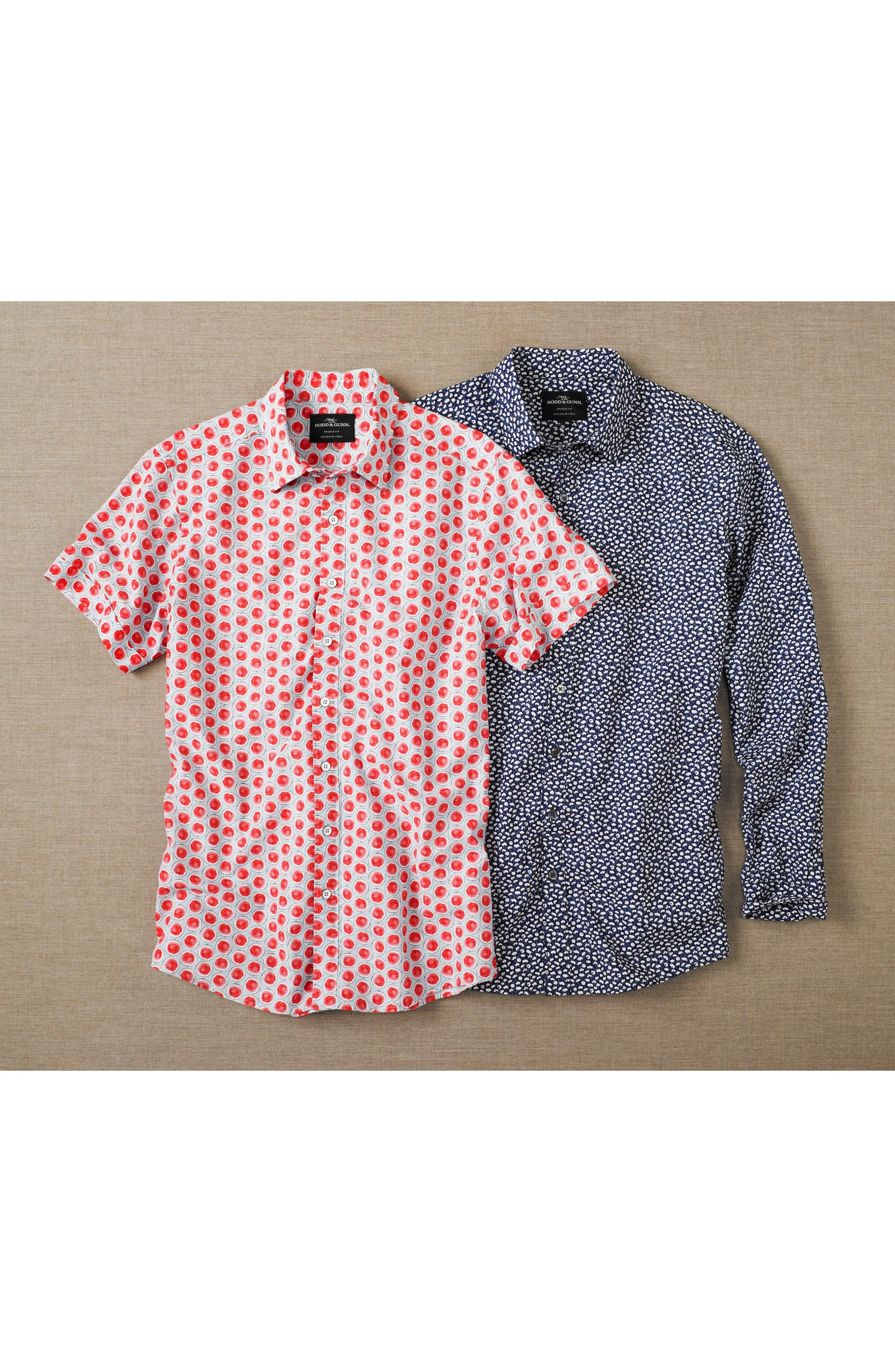Mellons Bay Regular Fit Sport Shirt,                             Alternate thumbnail 7, color,