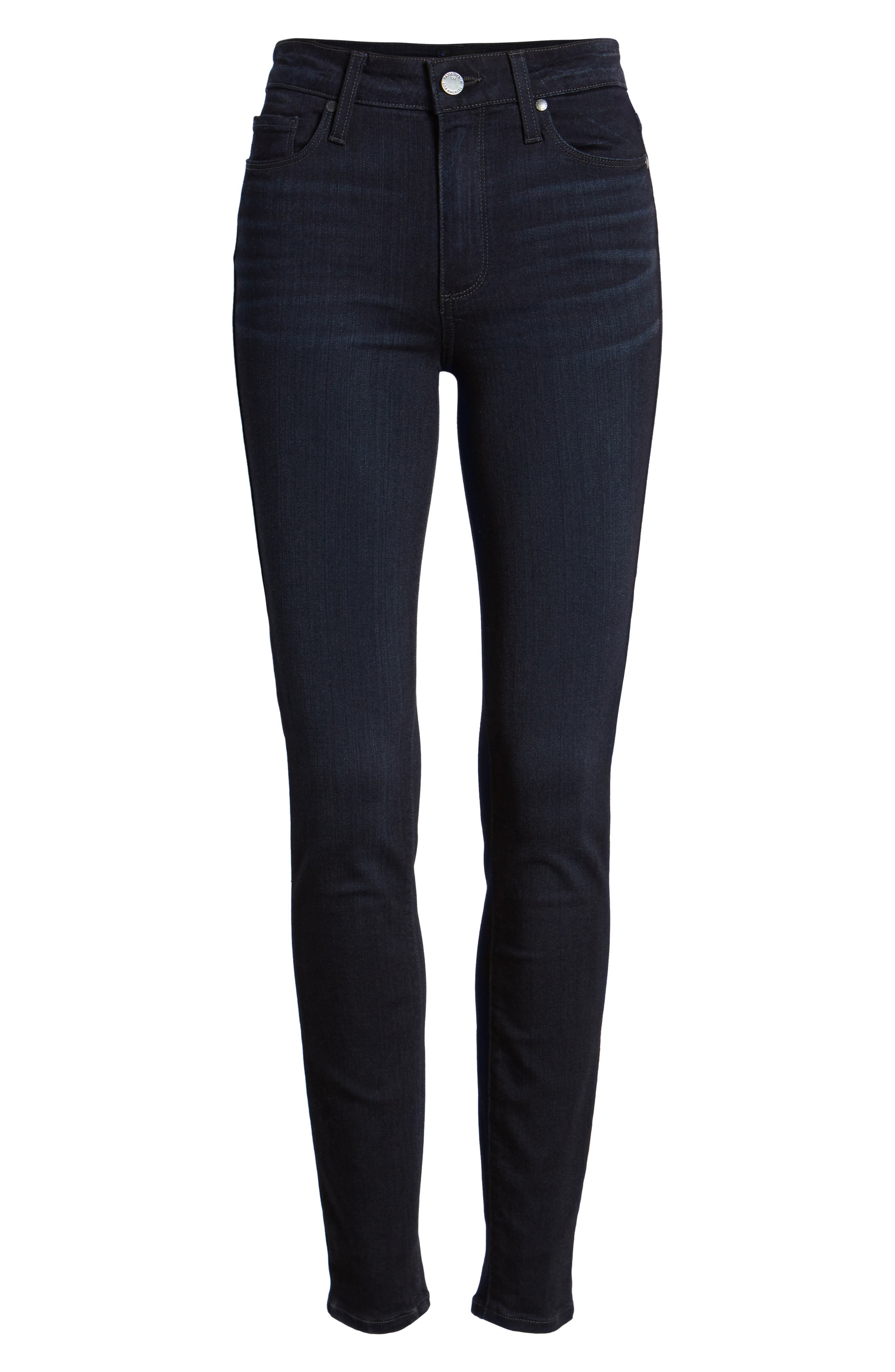 Transcend - Hoxton High Waist Ultra Skinny Jeans,                             Alternate thumbnail 7, color,                             Emryn