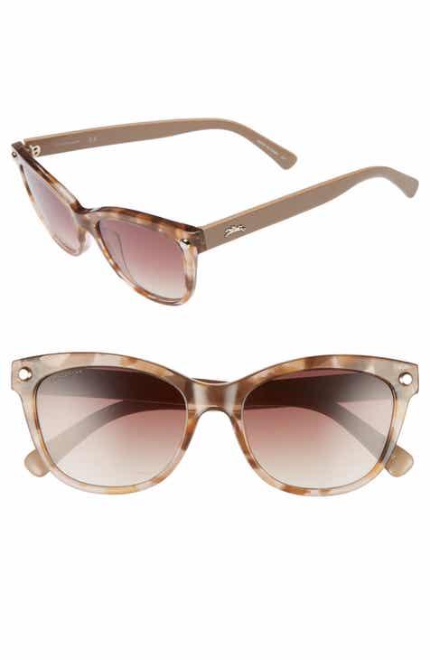 77bb7dc858f Longchamp 53mm Gradient Lens Cat Eye Sunglasses