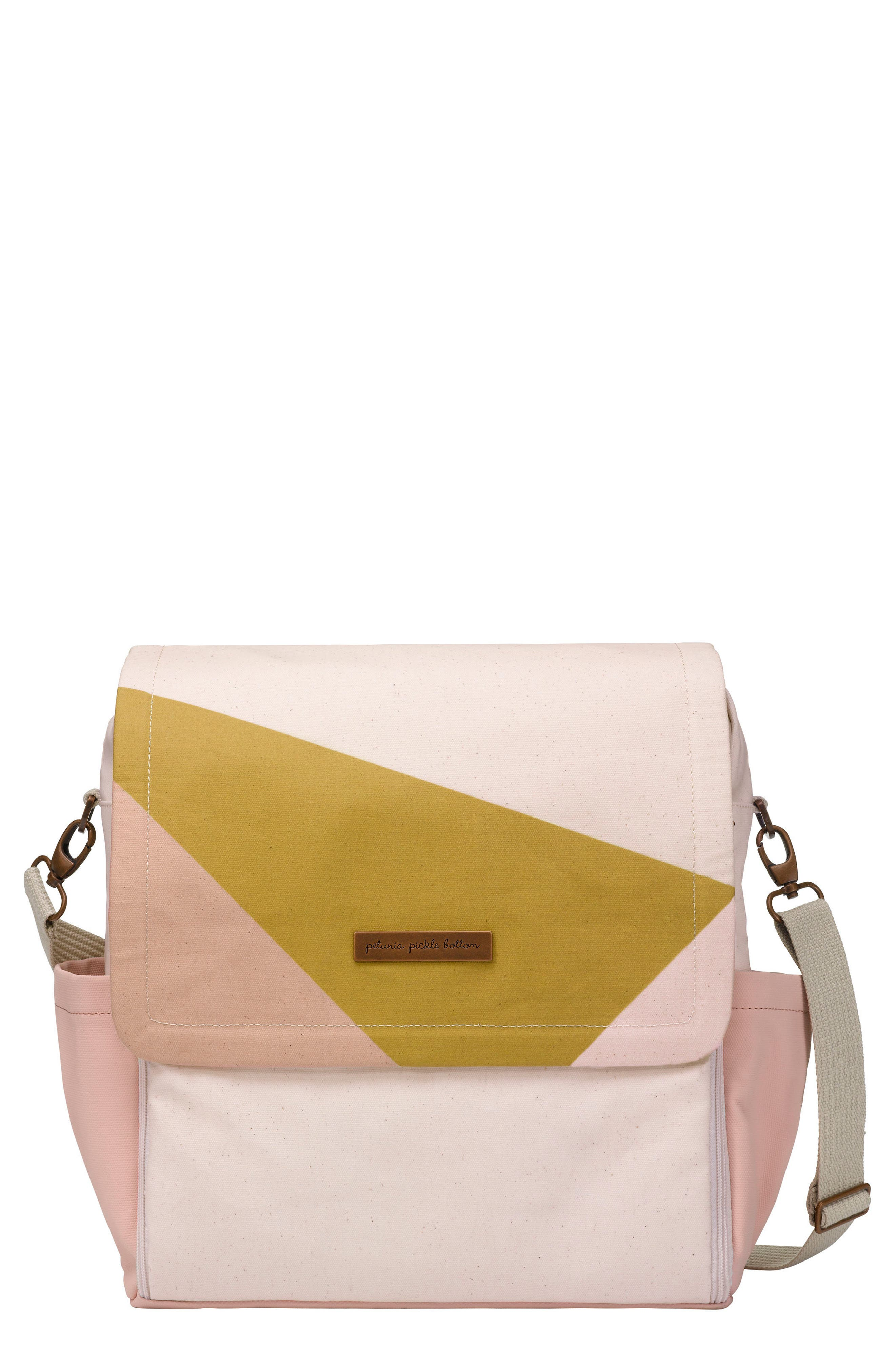 Boxy Backpack Diaper Bag,                         Main,                         color, Birch/ Macaron